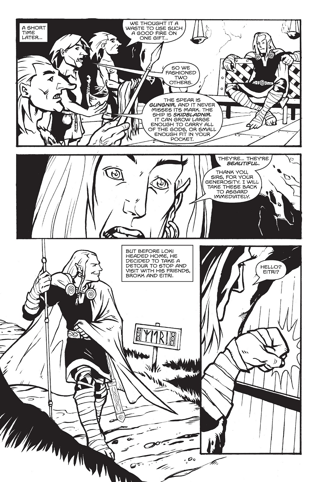 Read online Gods of Asgard comic -  Issue # TPB (Part 1) - 31