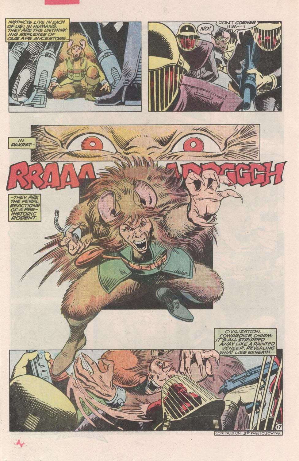 Read online Atari Force (1984) comic -  Issue #3 - 18