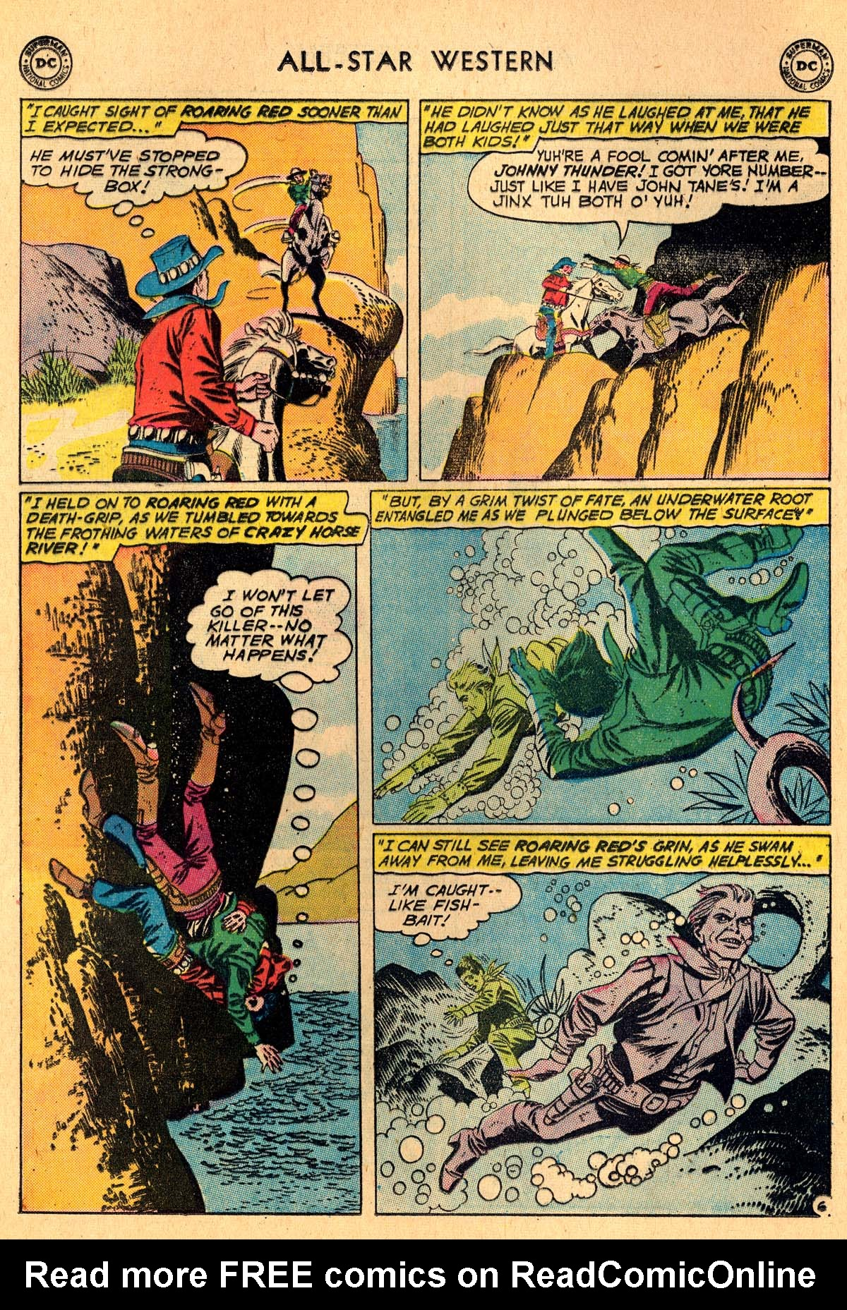 Read online All-Star Western (1951) comic -  Issue #115 - 8