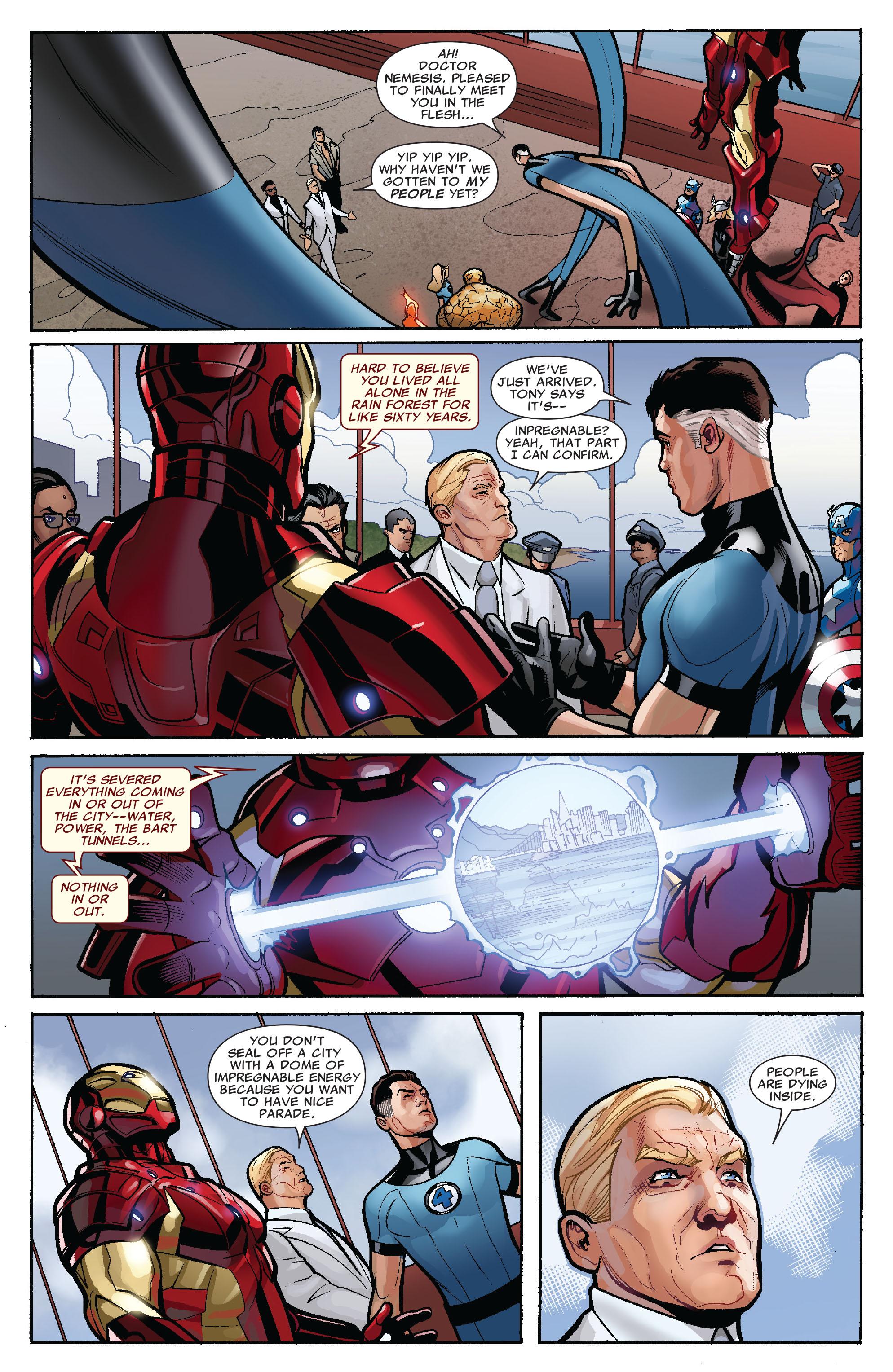 Read online Uncanny X-Men (1963) comic -  Issue #525 - 7
