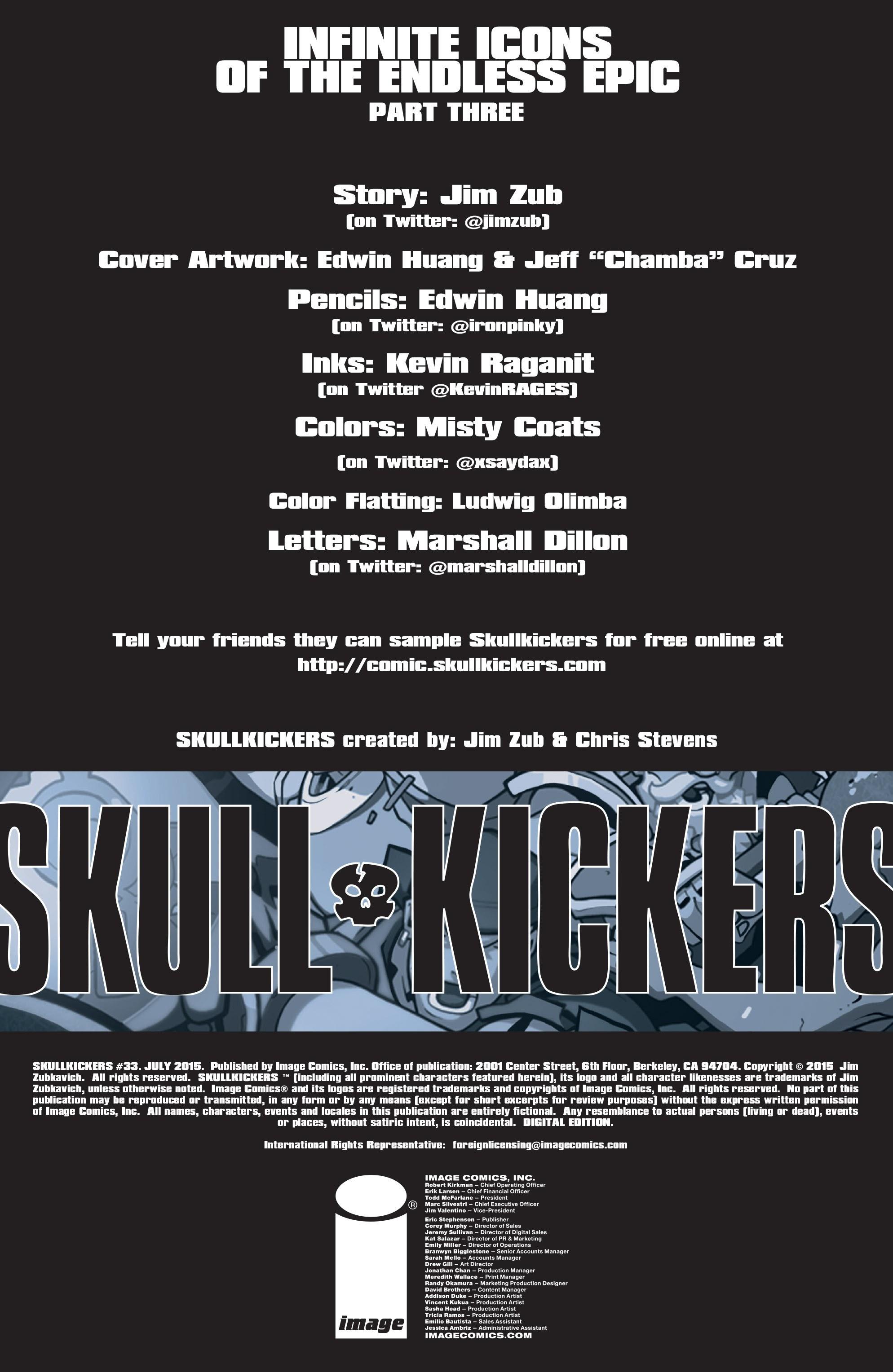 Read online Skullkickers comic -  Issue #33 - 2