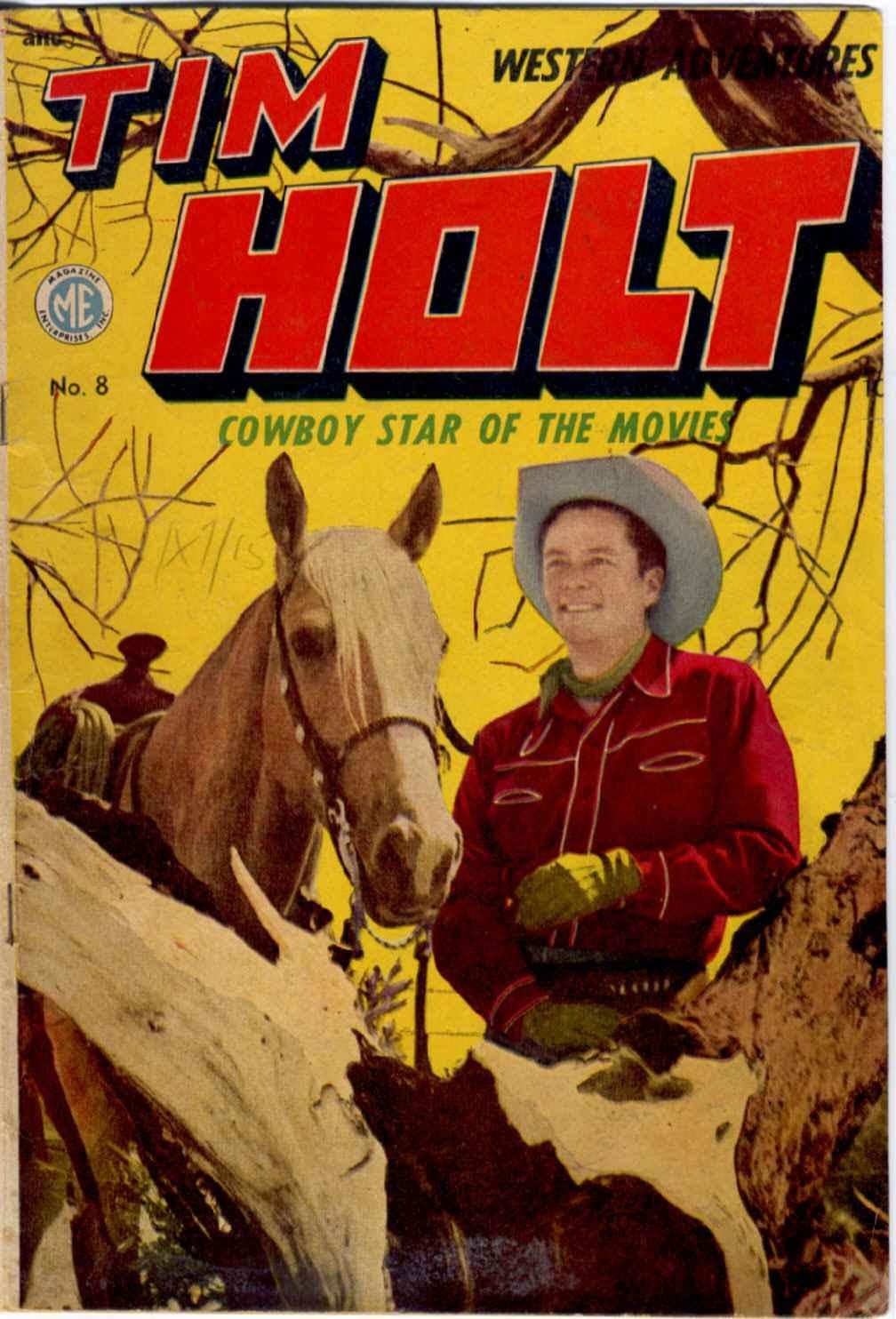 Tim Holt 8 Page 1