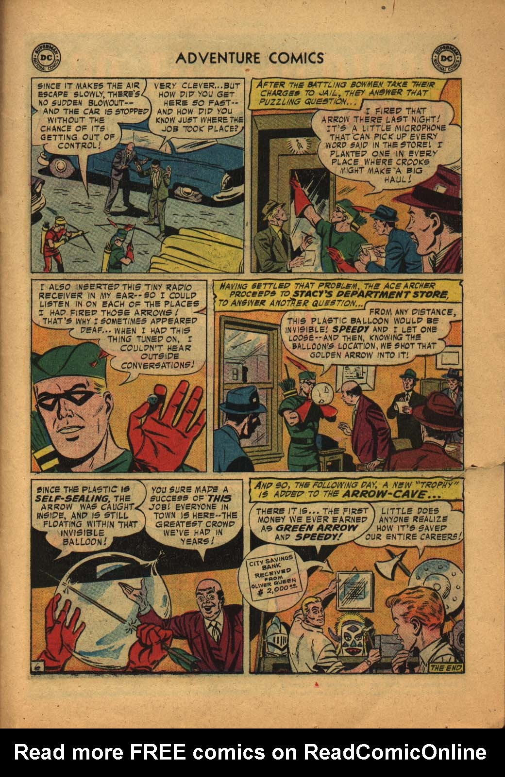 Read online Adventure Comics (1938) comic -  Issue #240 - 23