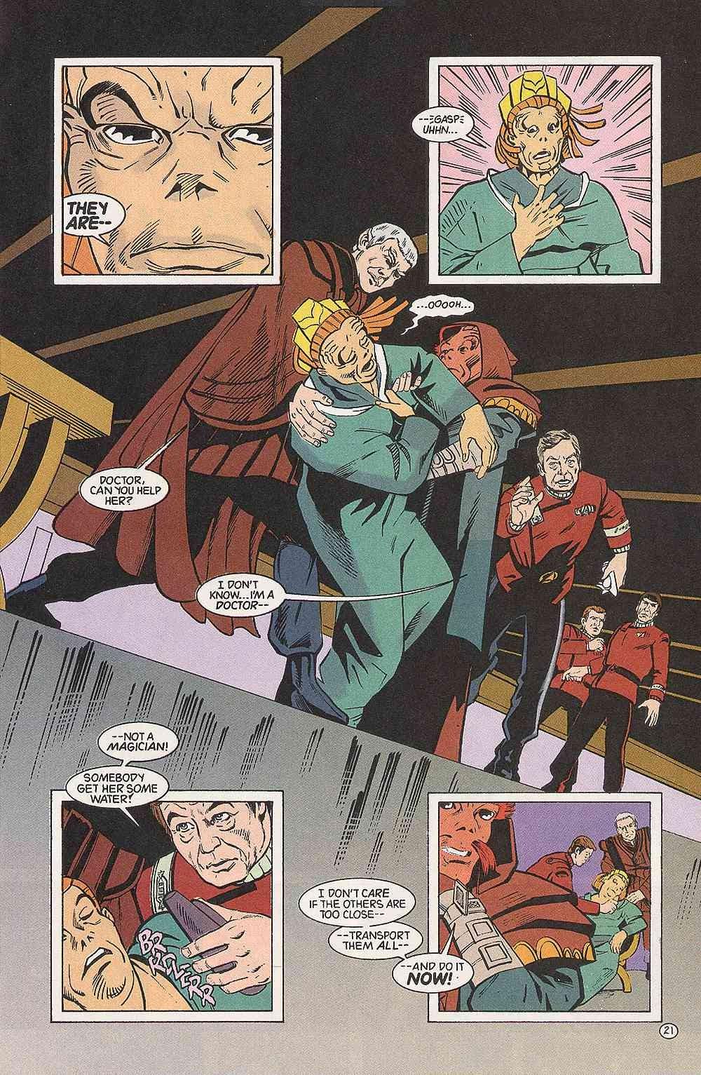 Read online Star Trek (1989) comic -  Issue # Annual 3 - 25