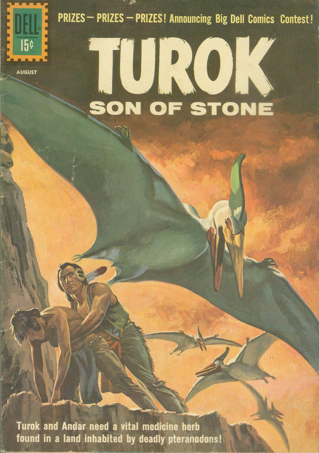Read online Turok, Son of Stone comic -  Issue #24 - 1
