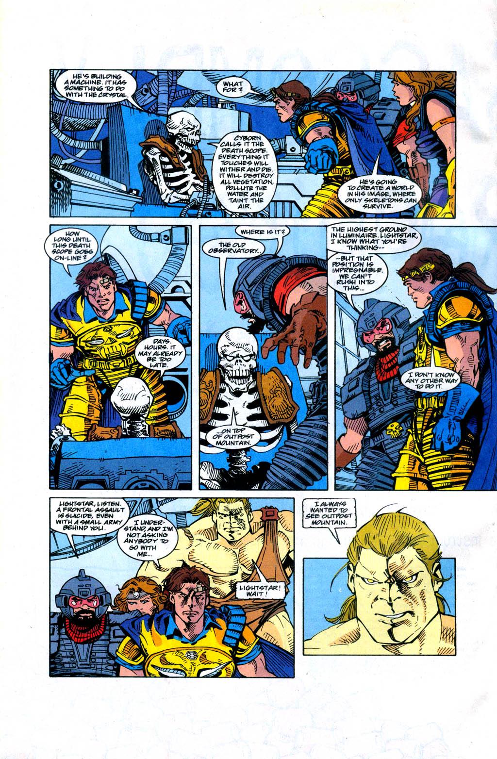 Skeleton Warriors Issue #4 #4 - English 14