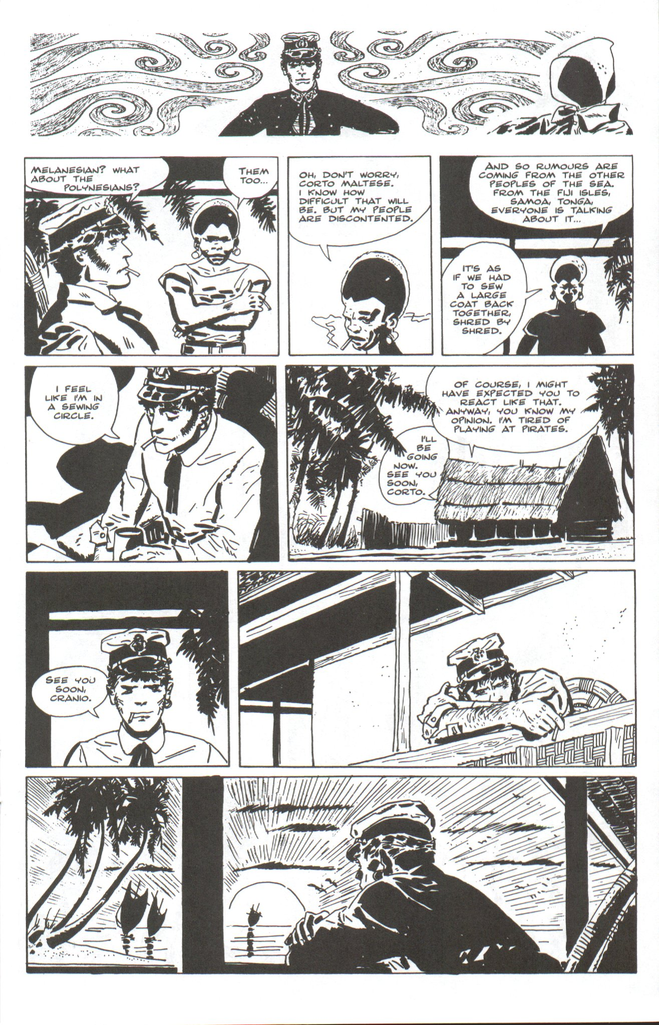 Corto Maltese Ballad of the Salt Sea Issue 4 | Viewcomic