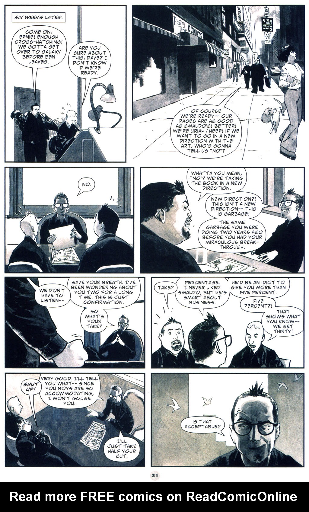 Read online Solo (2004) comic -  Issue #9 - 22