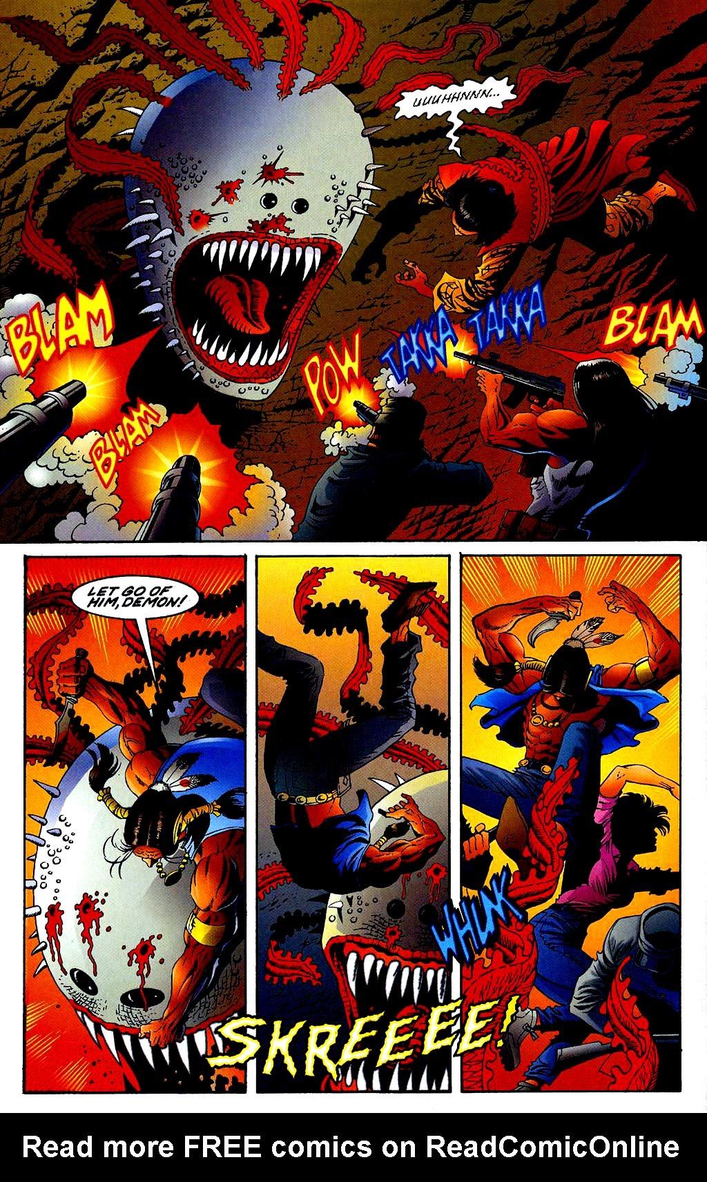 Read online Turok, Dinosaur Hunter (1993) comic -  Issue #40 - 18