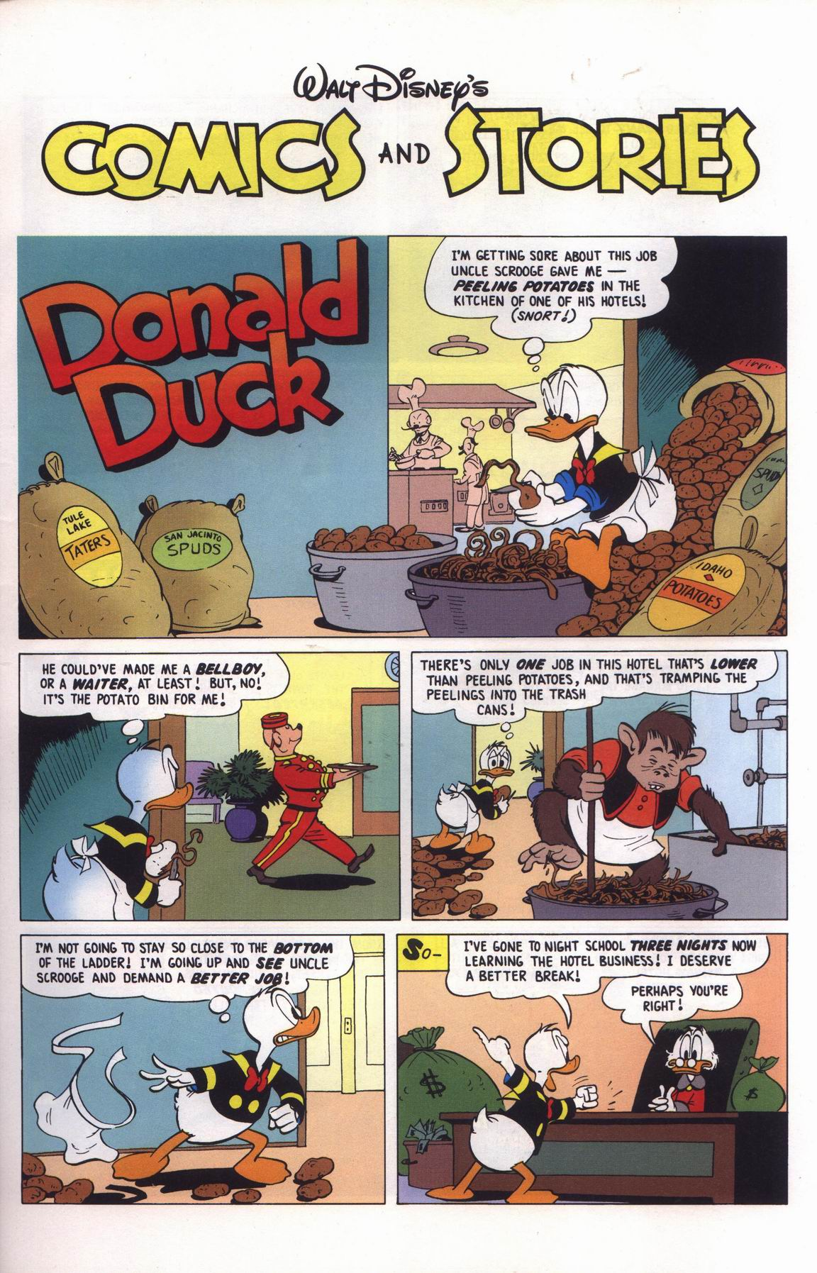 Read online Uncle Scrooge (1953) comic -  Issue #315 - 35