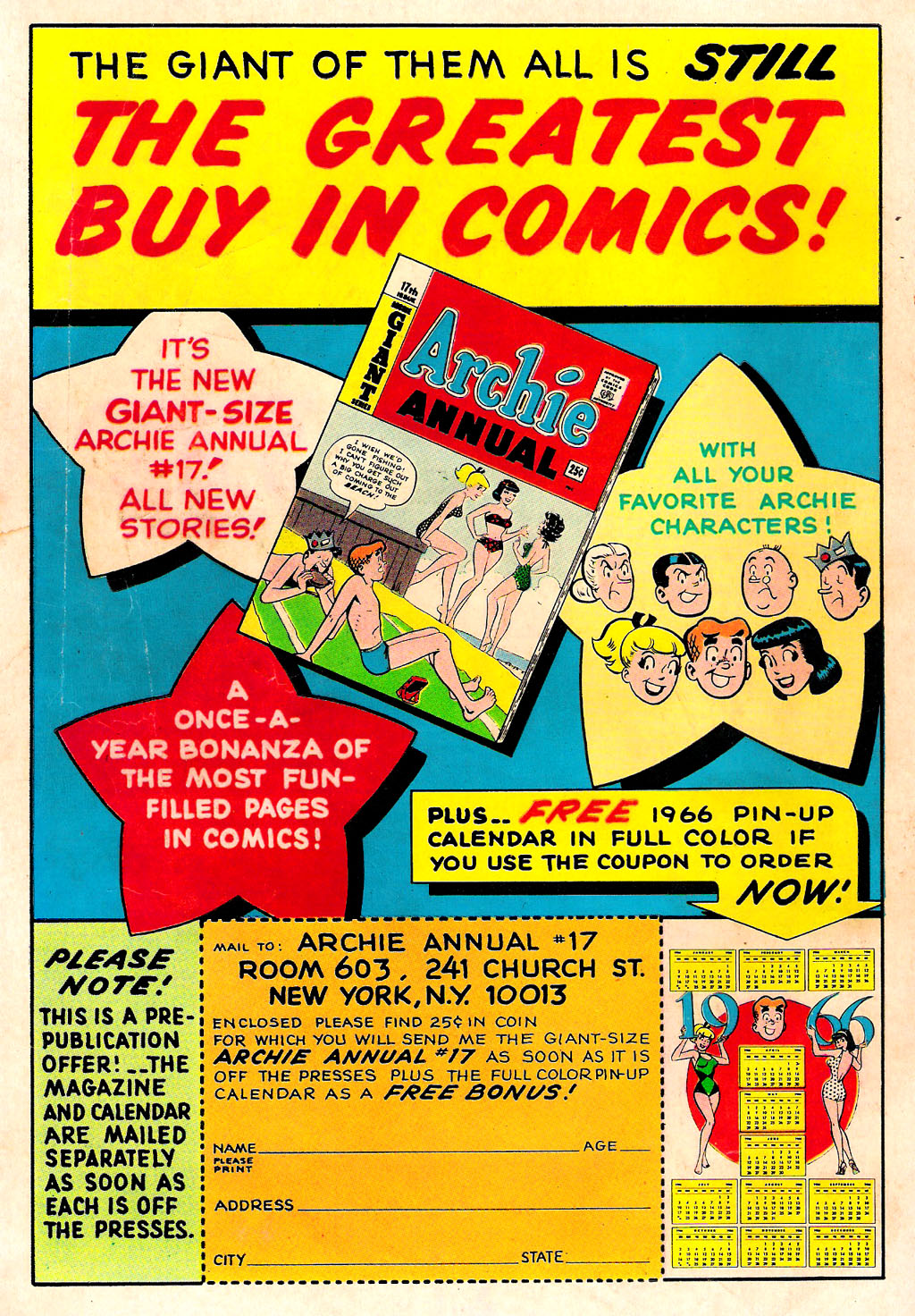 Archie's Madhouse issue Annual 3 - Page 68