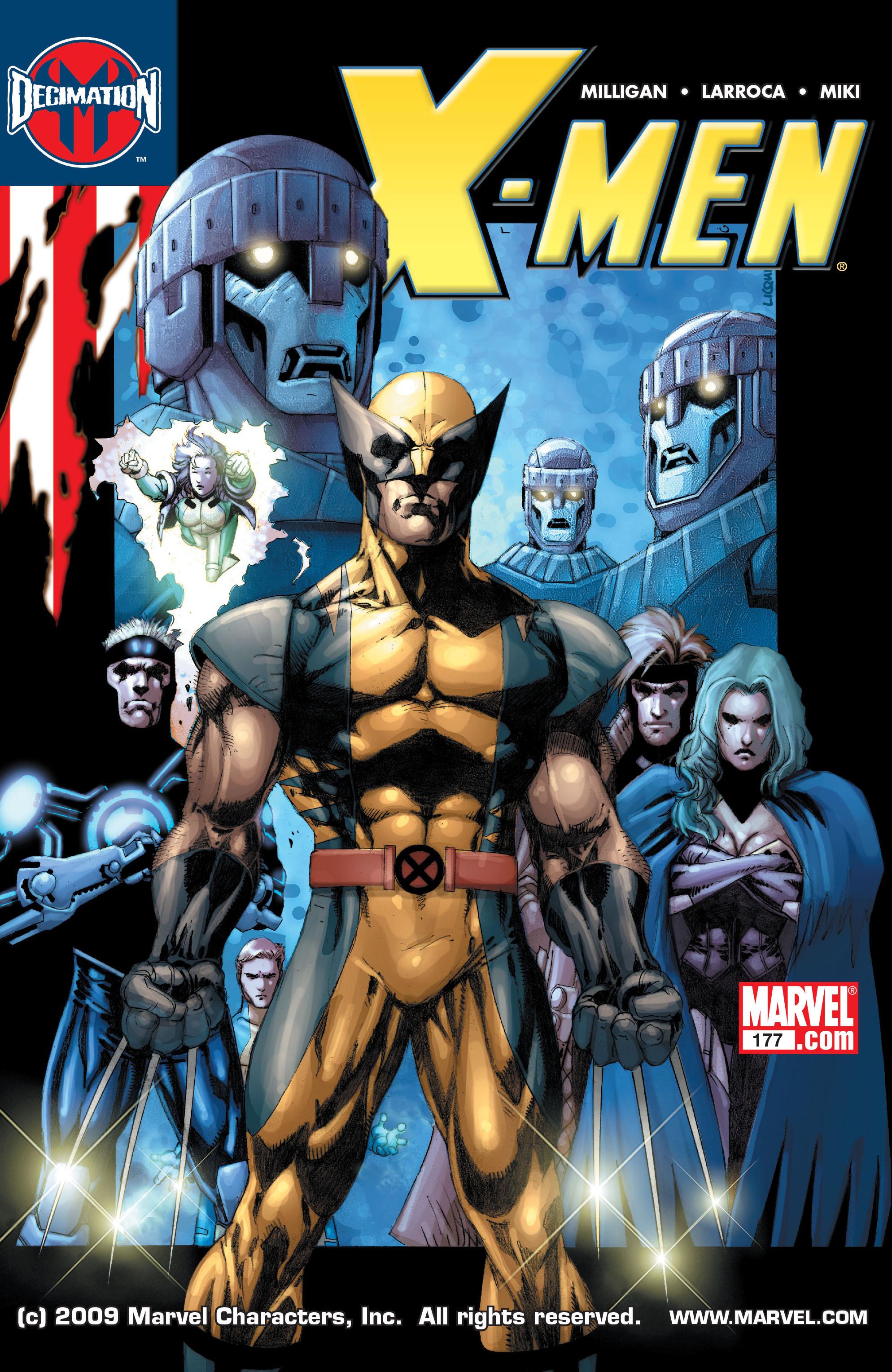 X-Men (1991) 177 Page 0
