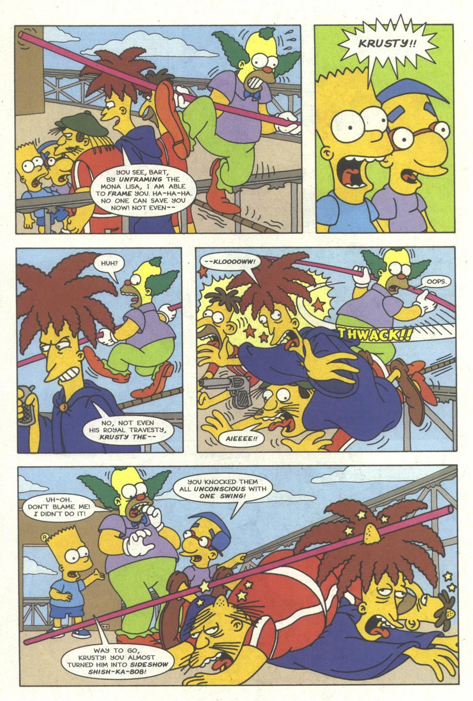 Read online Simpsons Comics comic -  Issue #23 - 21