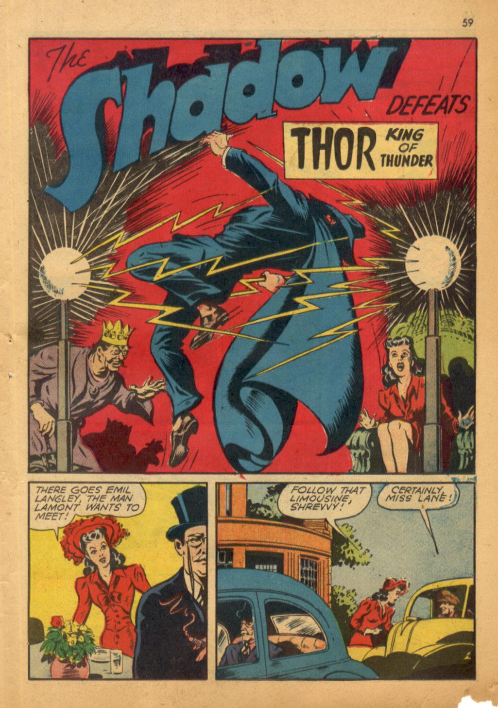 Read online Shadow Comics comic -  Issue #32 - 60