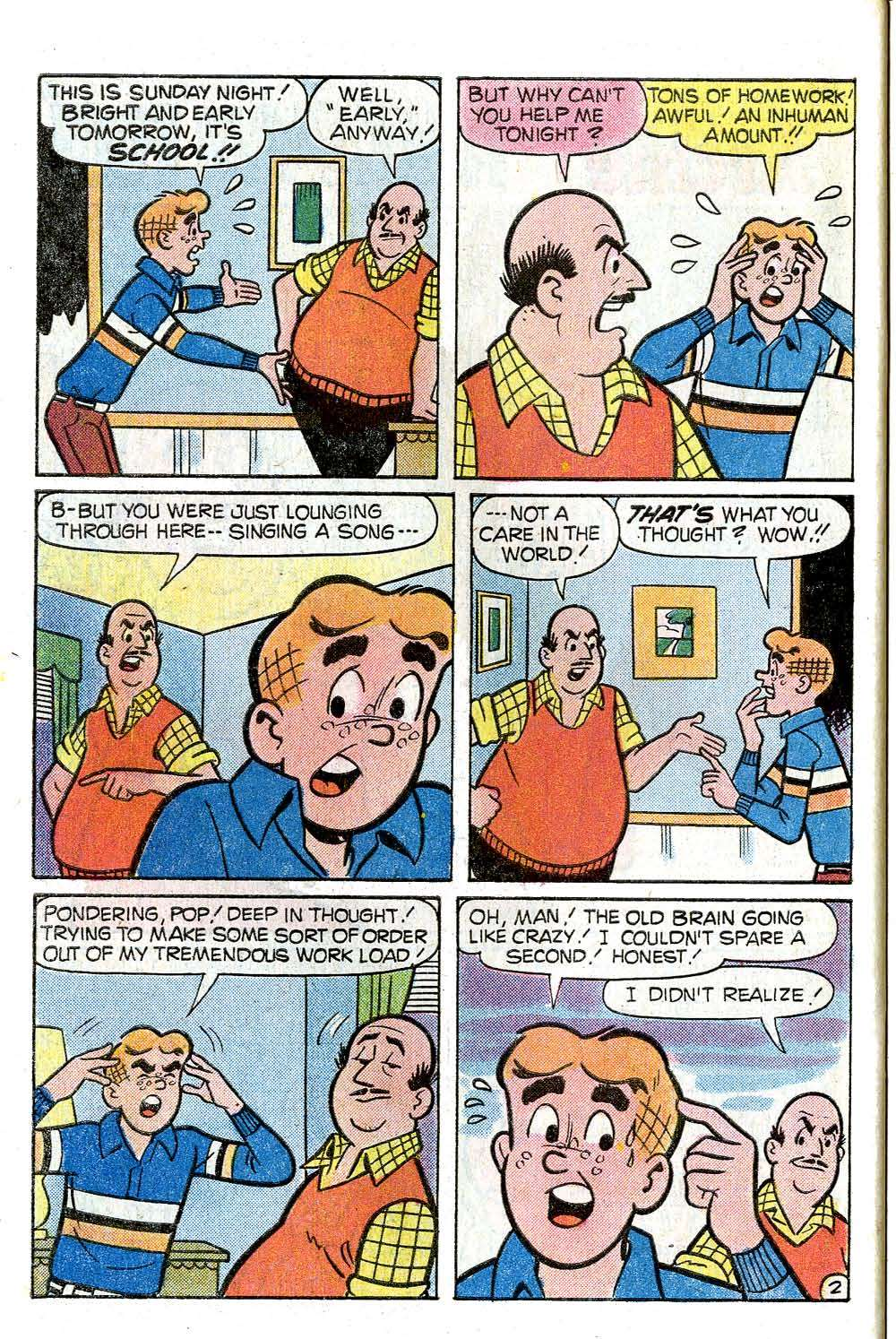 Read online Archie (1960) comic -  Issue #272 - 30