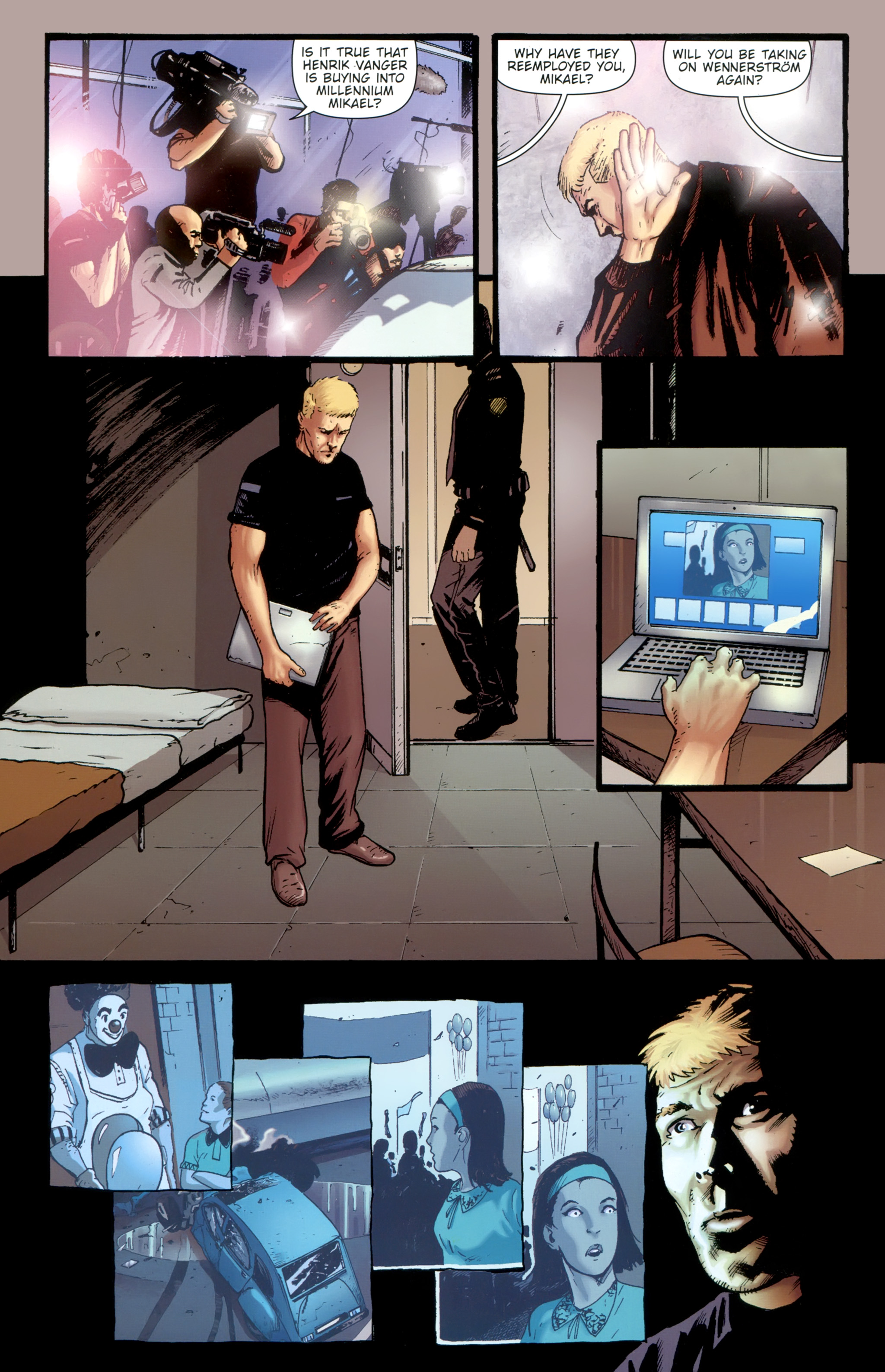 Read online The Girl With the Dragon Tattoo comic -  Issue # TPB 1 - 147
