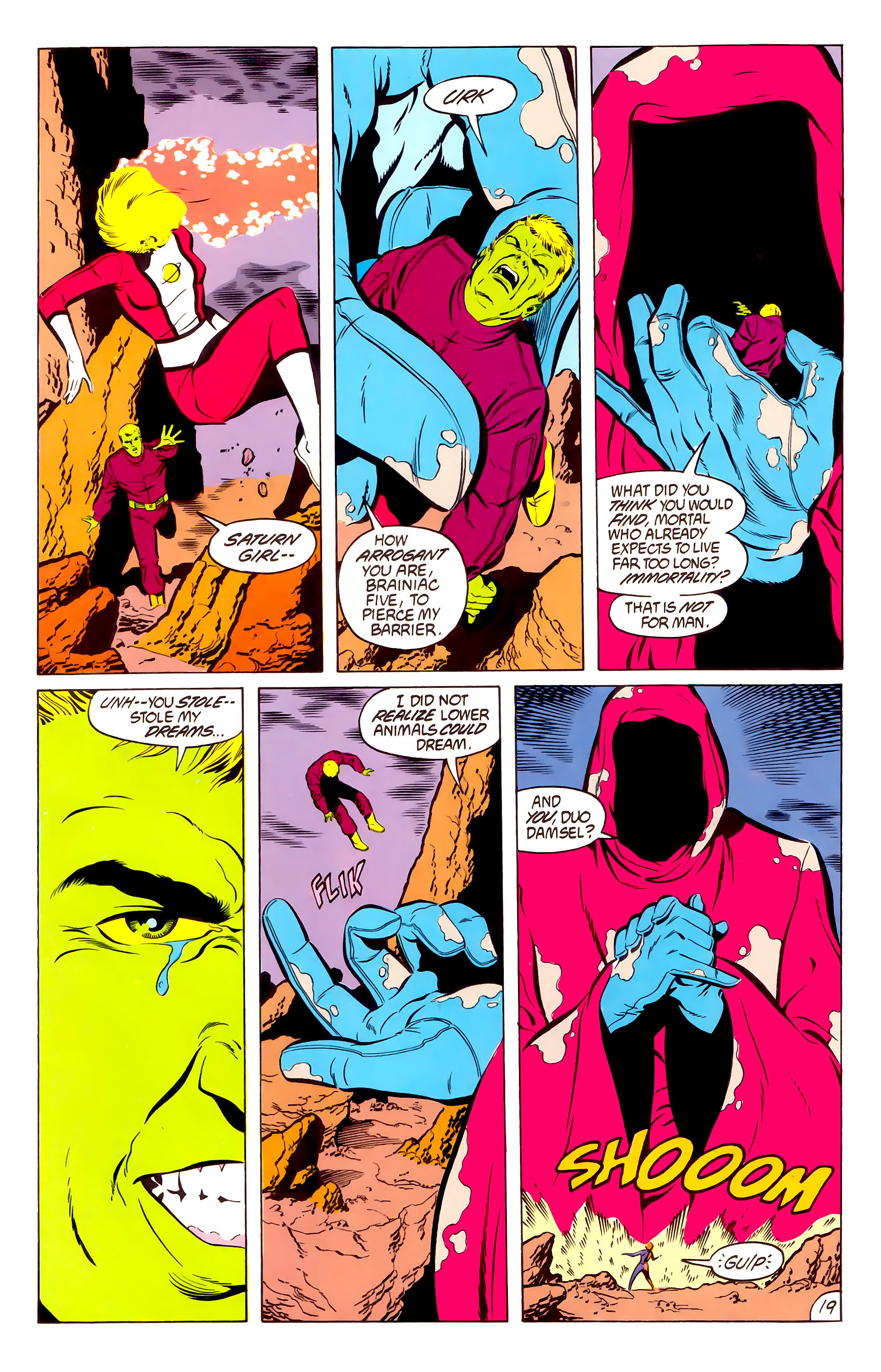 Legion of Super-Heroes (1984) 50 Page 19