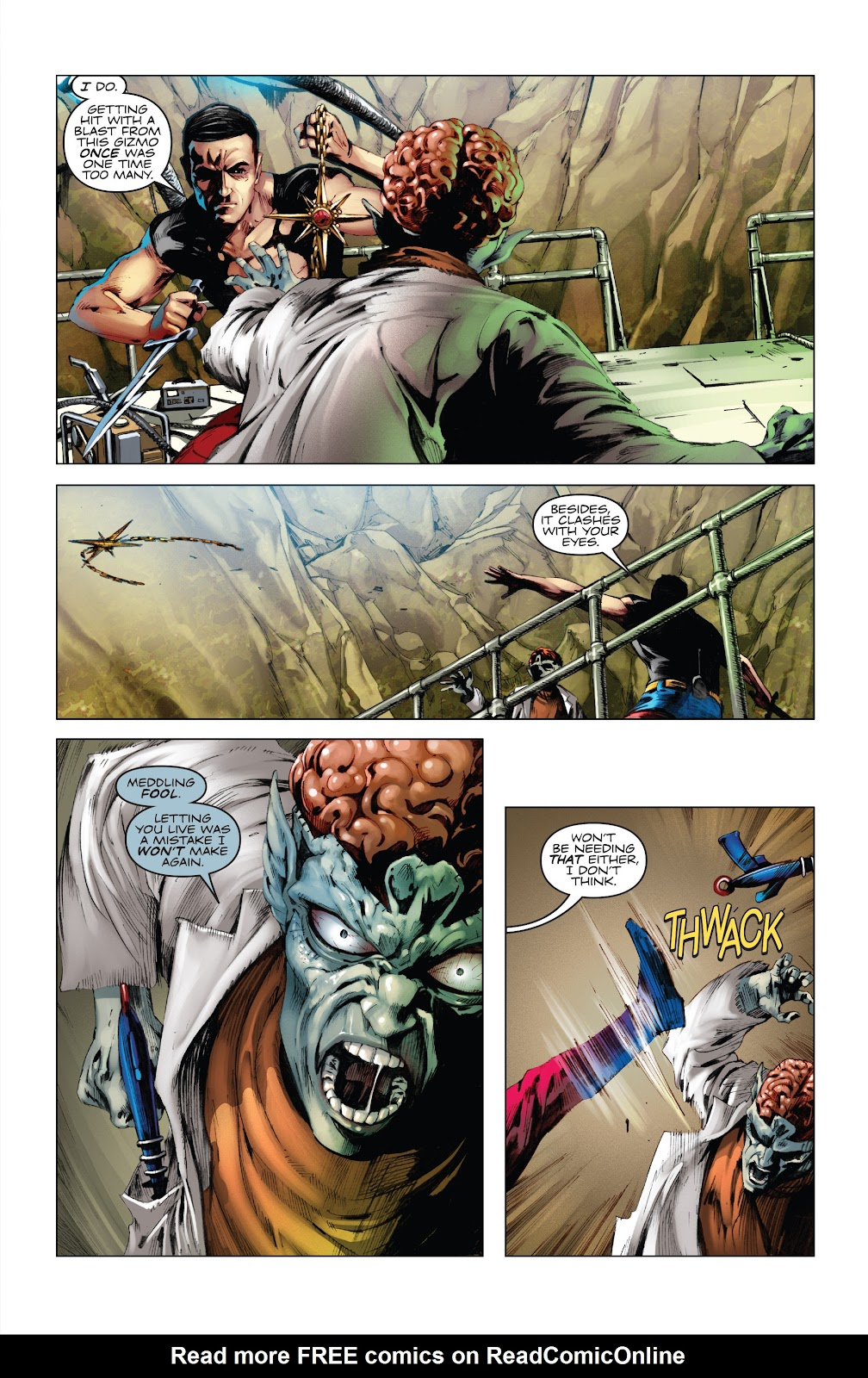 Read online Codename: Action comic -  Issue #5 - 17