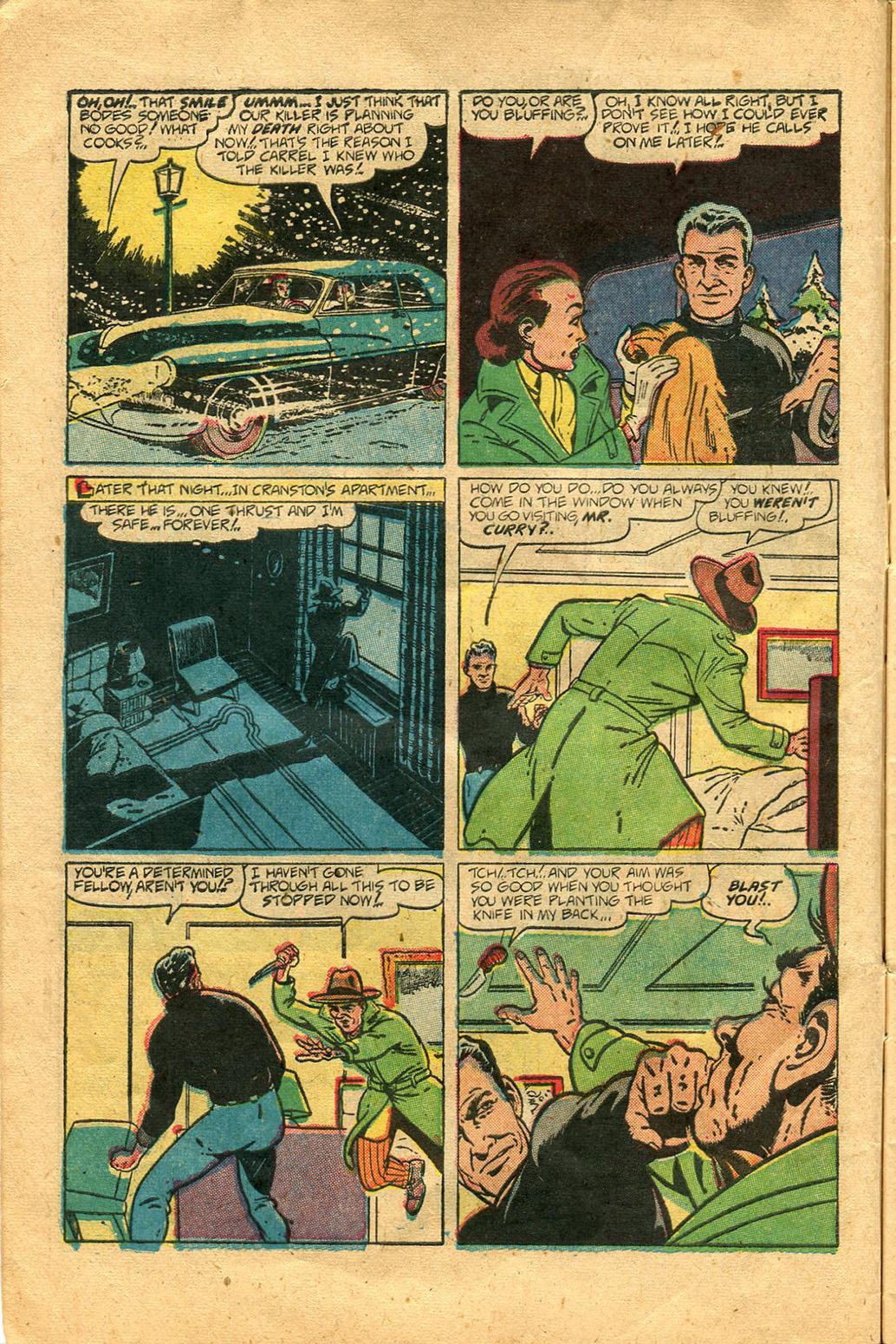 Read online Shadow Comics comic -  Issue #100 - 12