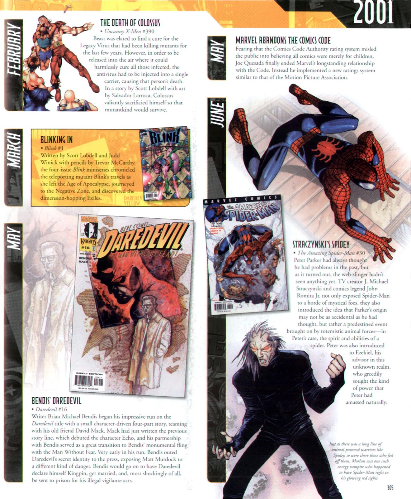 Read online Marvel Chronicle comic -  Issue # TPB (Part 3) - 84