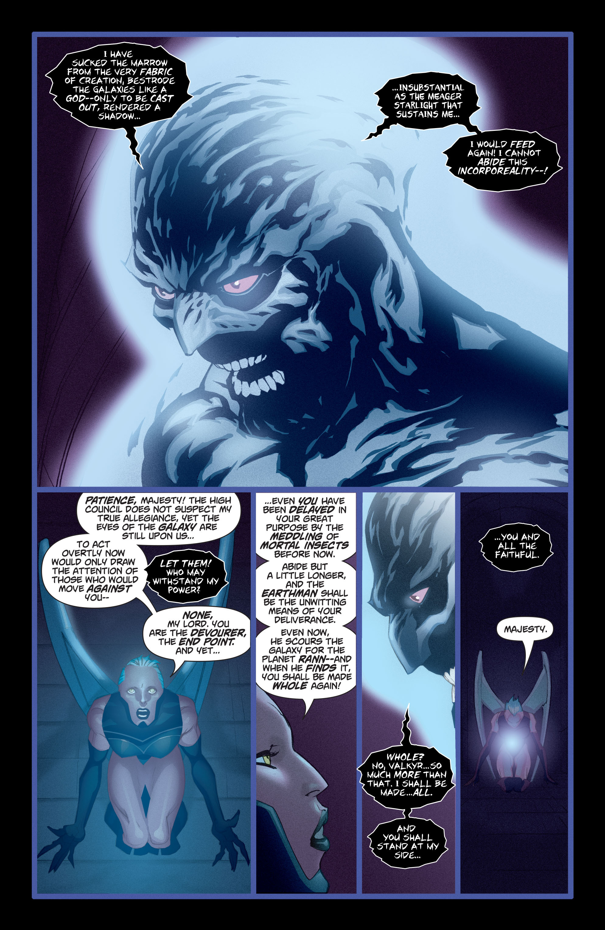 Read online Adam Strange (2004) comic -  Issue #4 - 16