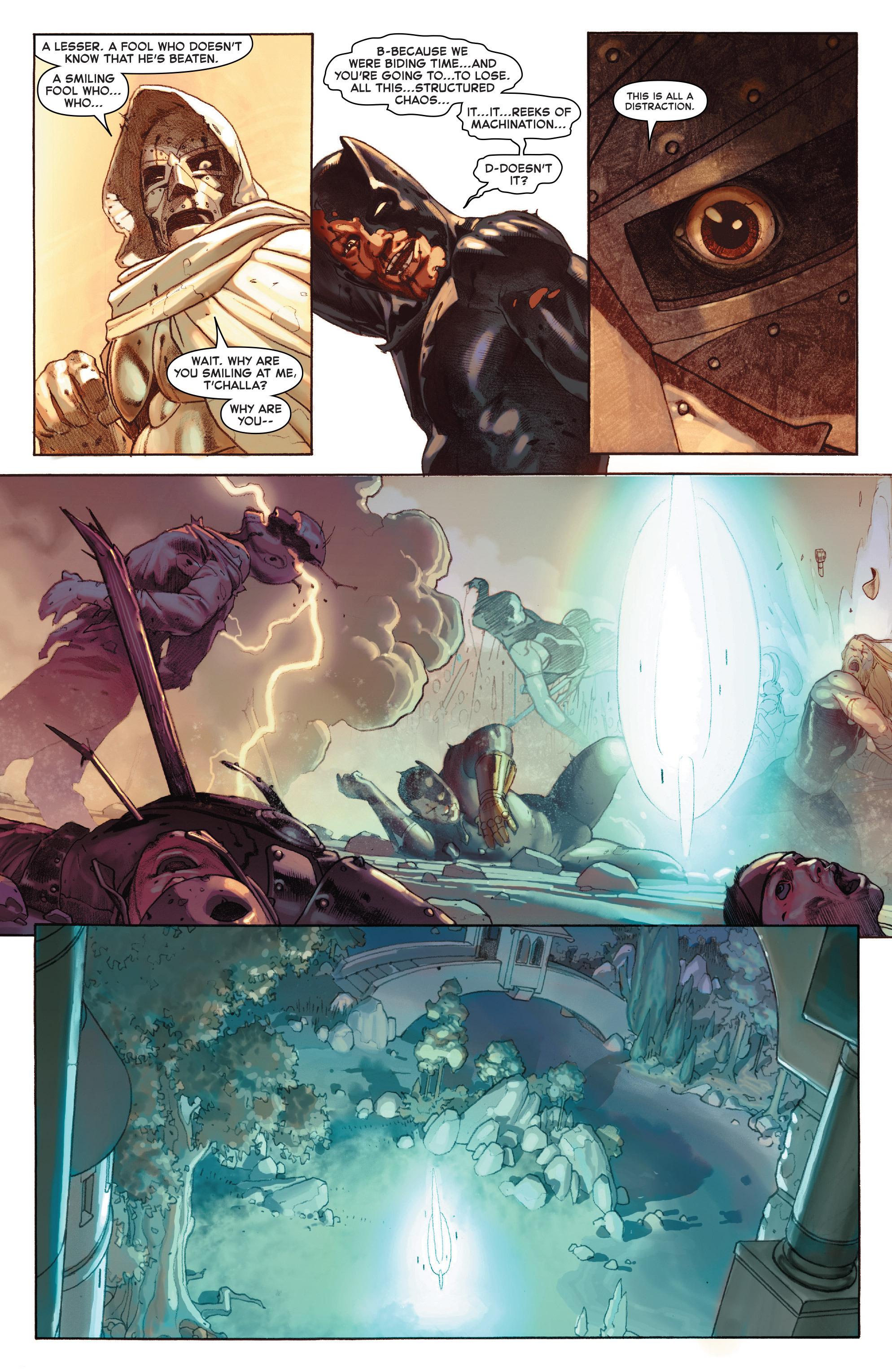 Read online Secret Wars comic -  Issue #9 - 14