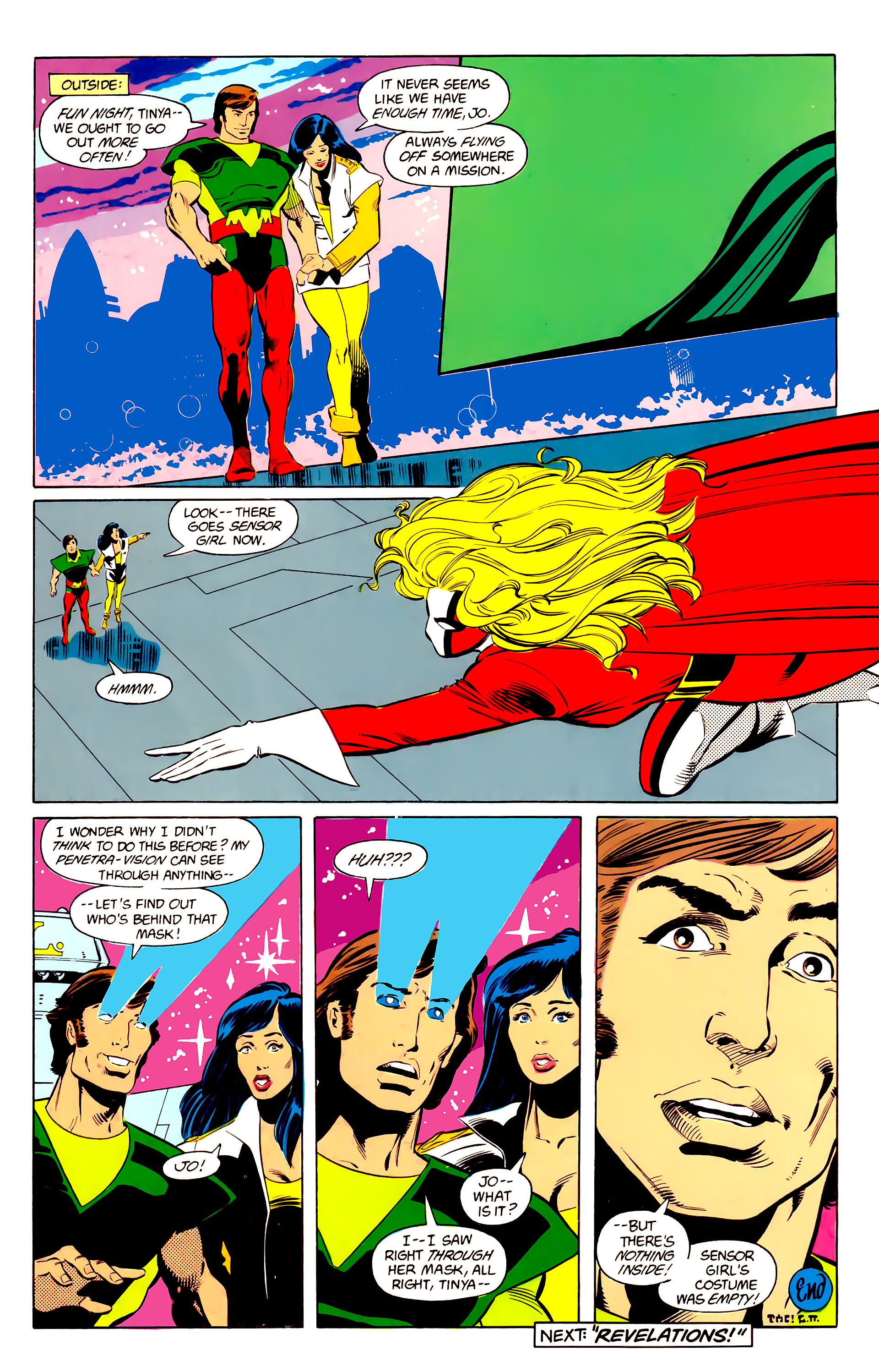 Legion of Super-Heroes (1984) 24 Page 23