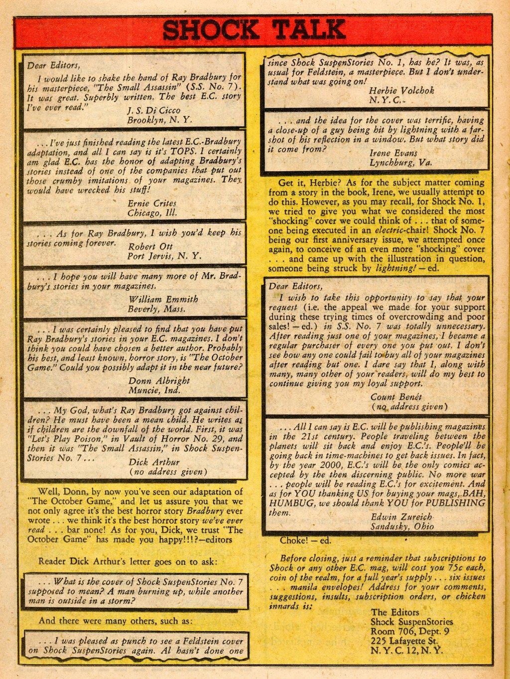 Read online Shock SuspenStories comic -  Issue #9 - 20