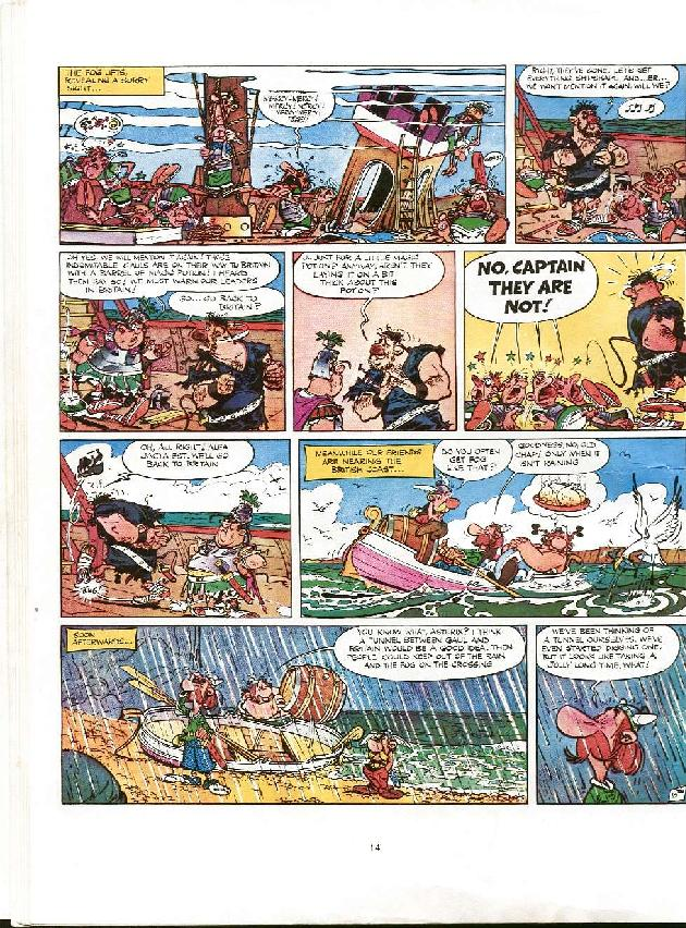Read online Asterix comic -  Issue #8 - 11