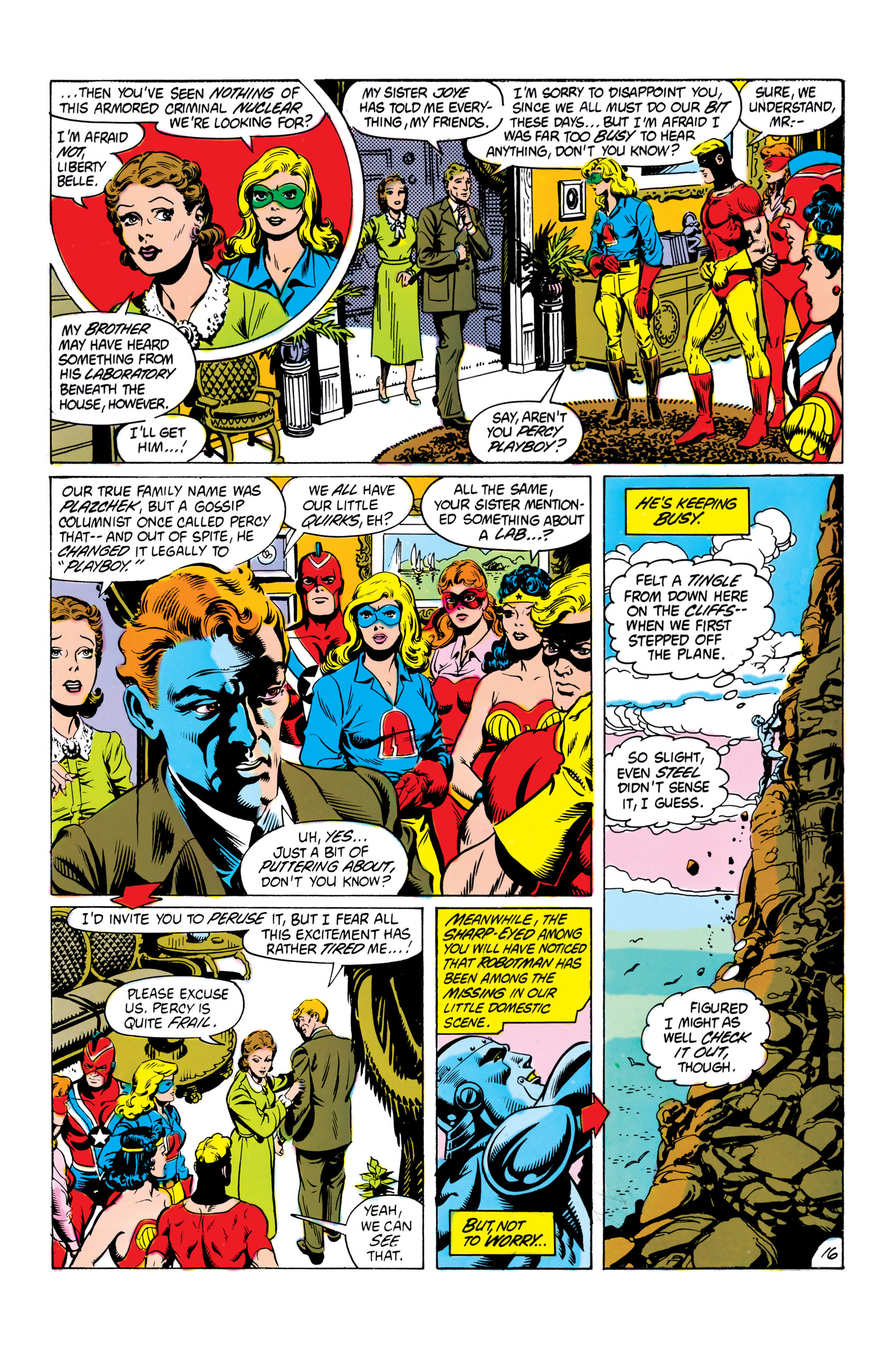 Read online All-Star Squadron comic -  Issue #16 - 17