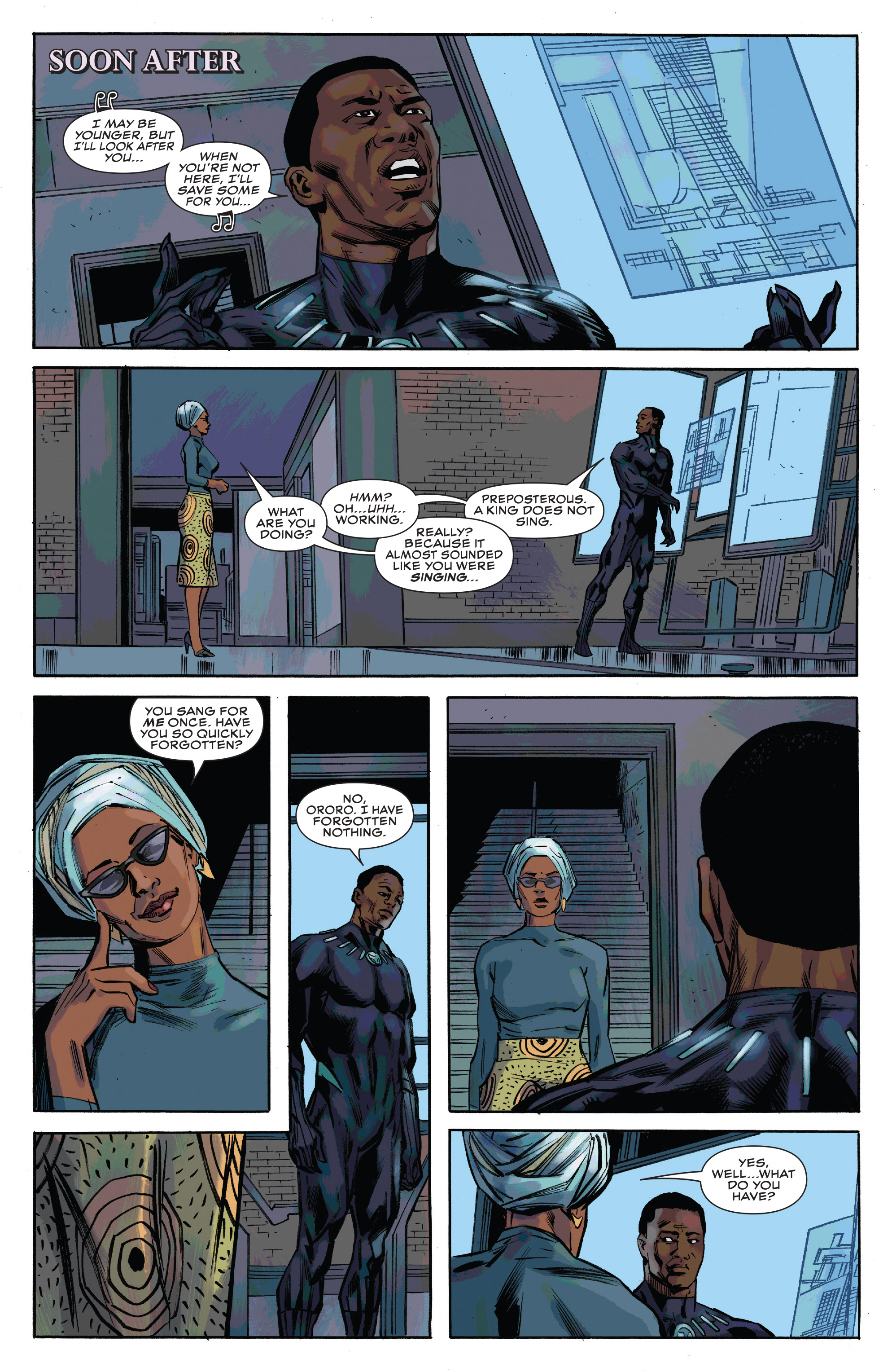 Read online Black Panther and the Crew comic -  Issue #3 - 17