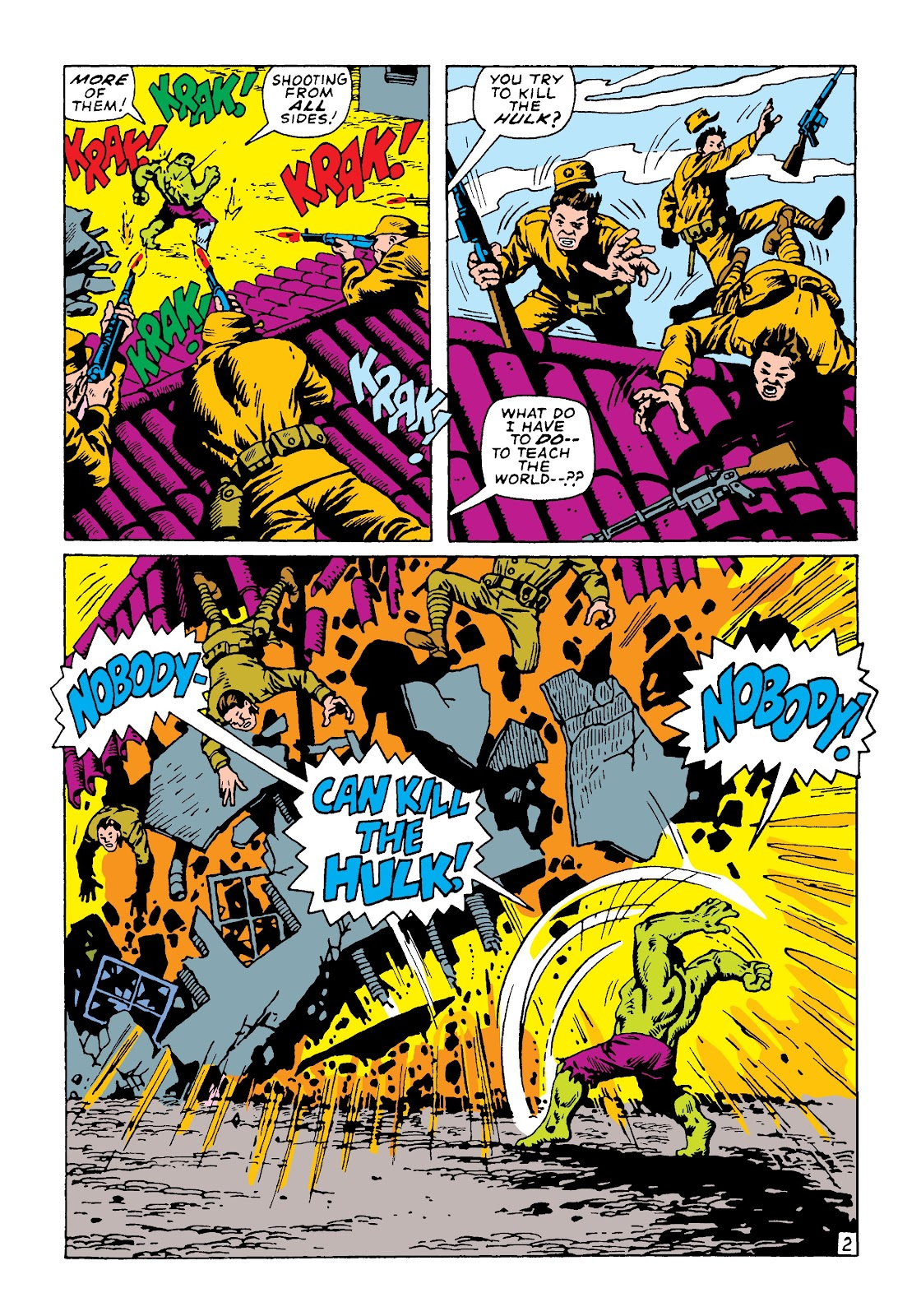 Read online Marvel Masterworks: The Incredible Hulk comic -  Issue # TPB 4 (Part 2) - 88
