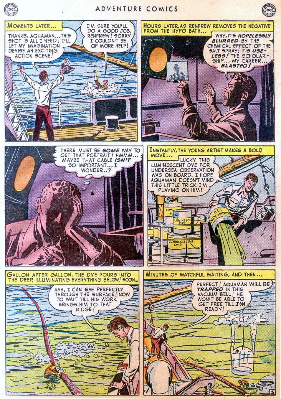 Read online Adventure Comics (1938) comic -  Issue #158 - 33