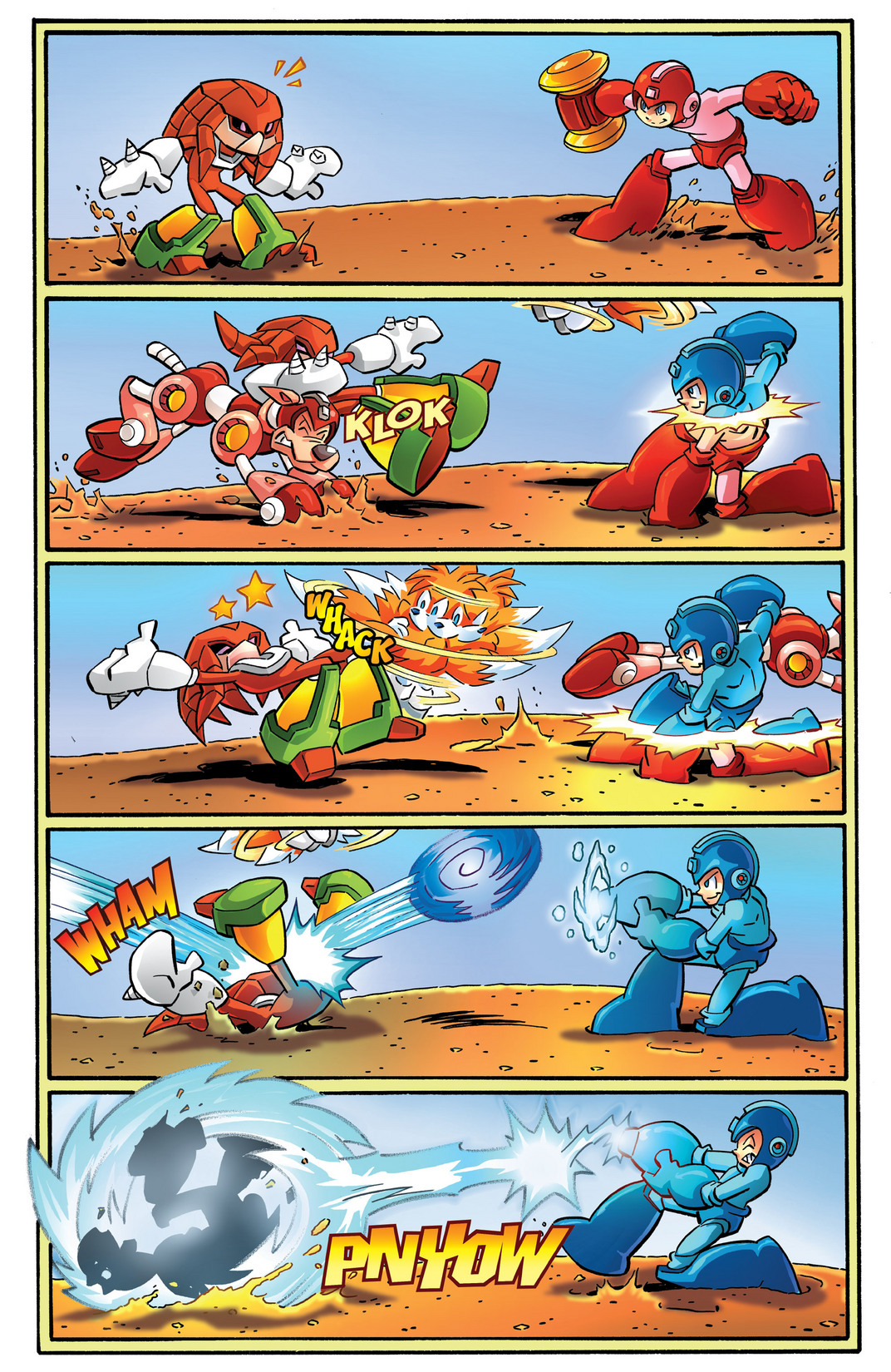 Read online Sonic Mega Man Worlds Collide comic -  Issue # Vol 2 - 95