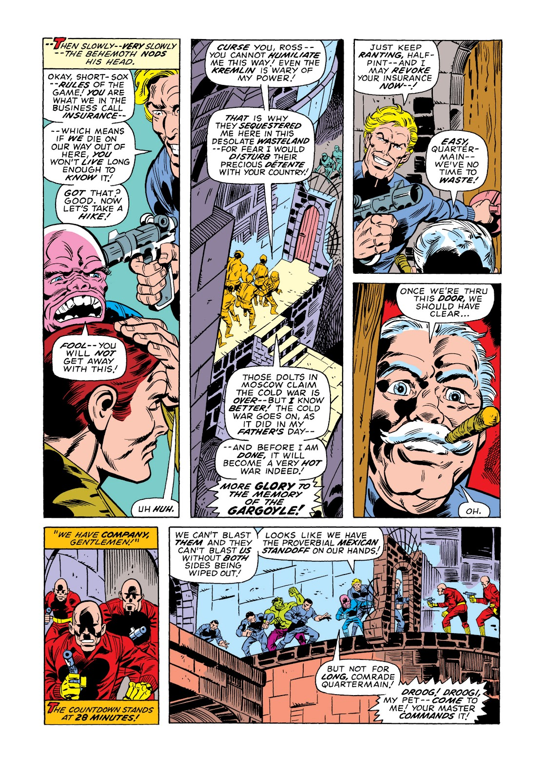 Read online Marvel Masterworks: The Incredible Hulk comic -  Issue # TPB 11 (Part 1) - 92