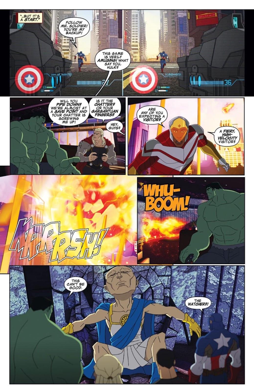 Read online Marvel Universe Avengers Assemble Season 2 comic -  Issue #2 - 5