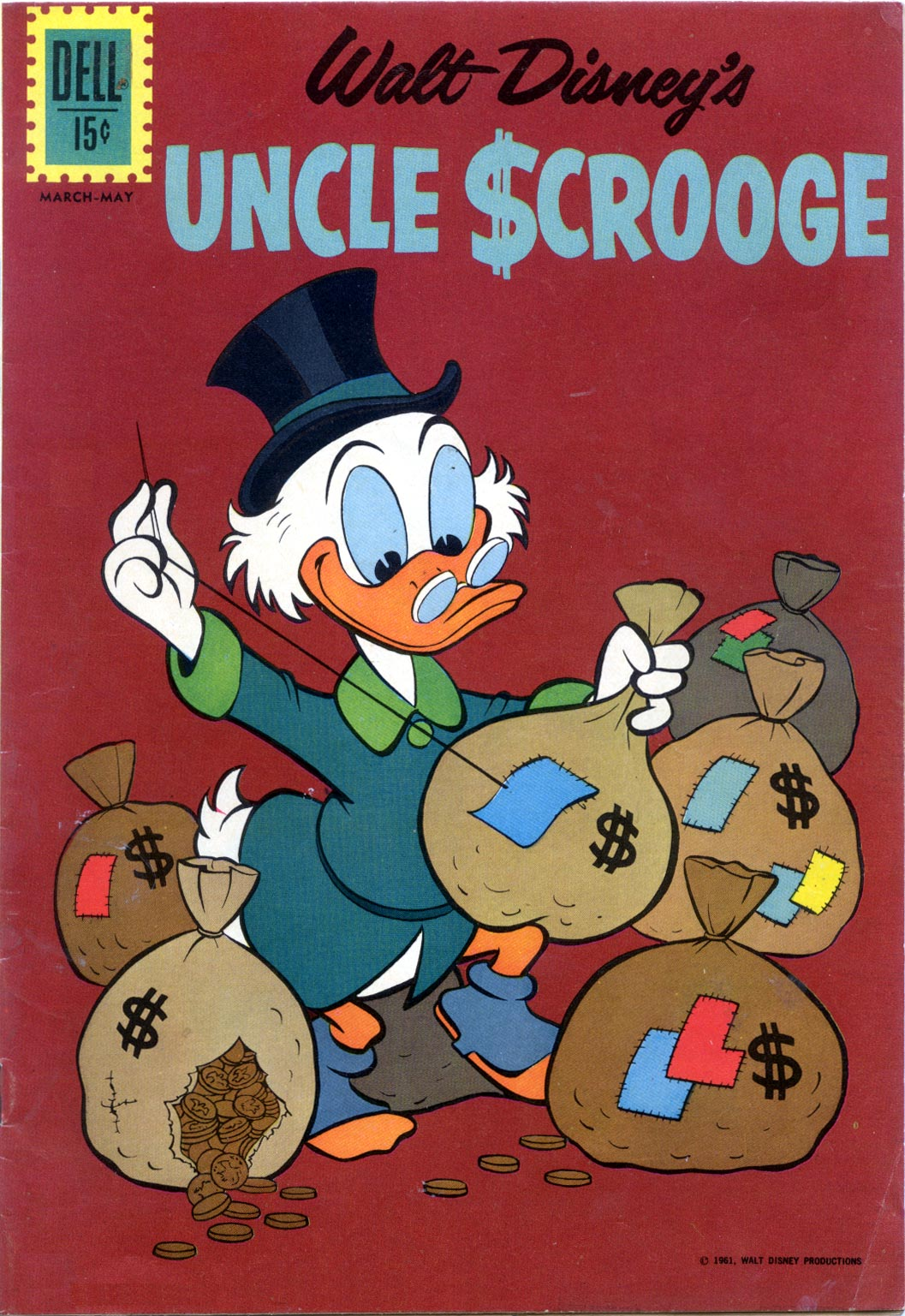 Read online Uncle Scrooge (1953) comic -  Issue #37 - 1