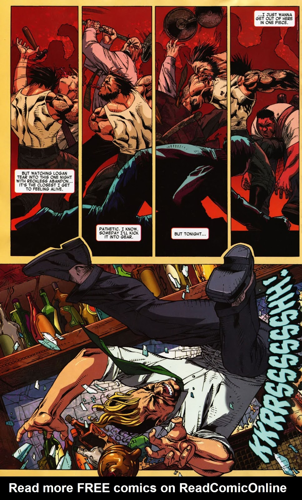 Read online Wolverine (2003) comic -  Issue #900 - 53