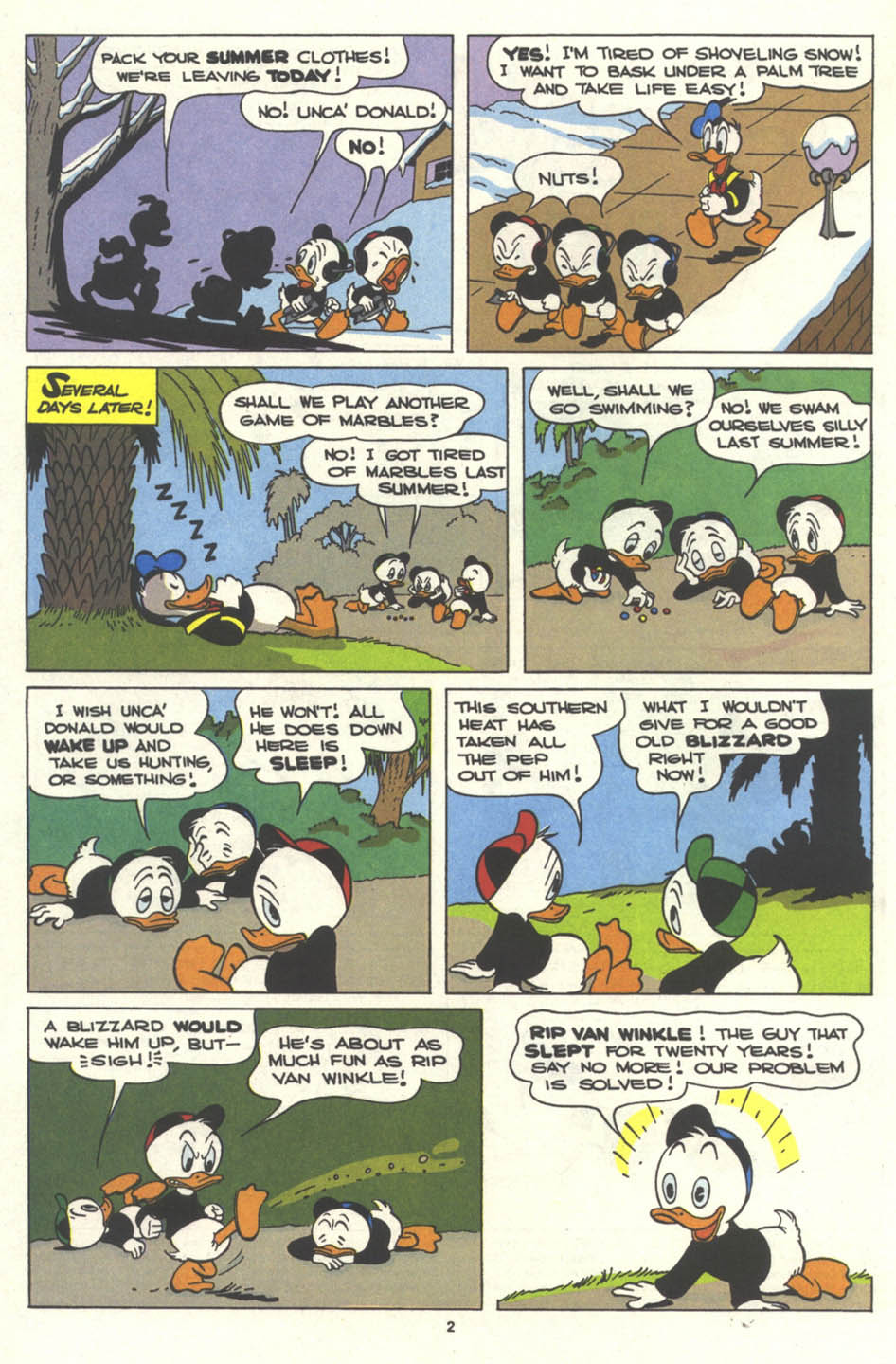 Walt Disney's Comics and Stories issue 554 - Page 4