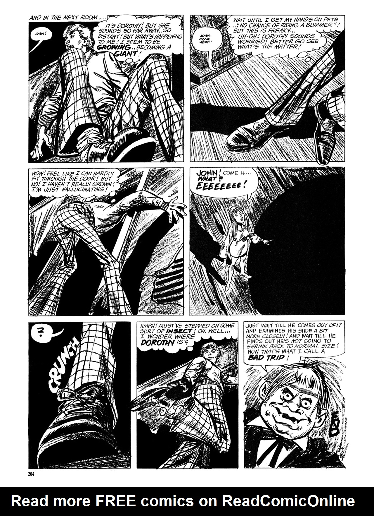 Read online Eerie Archives comic -  Issue # TPB 6 - 204
