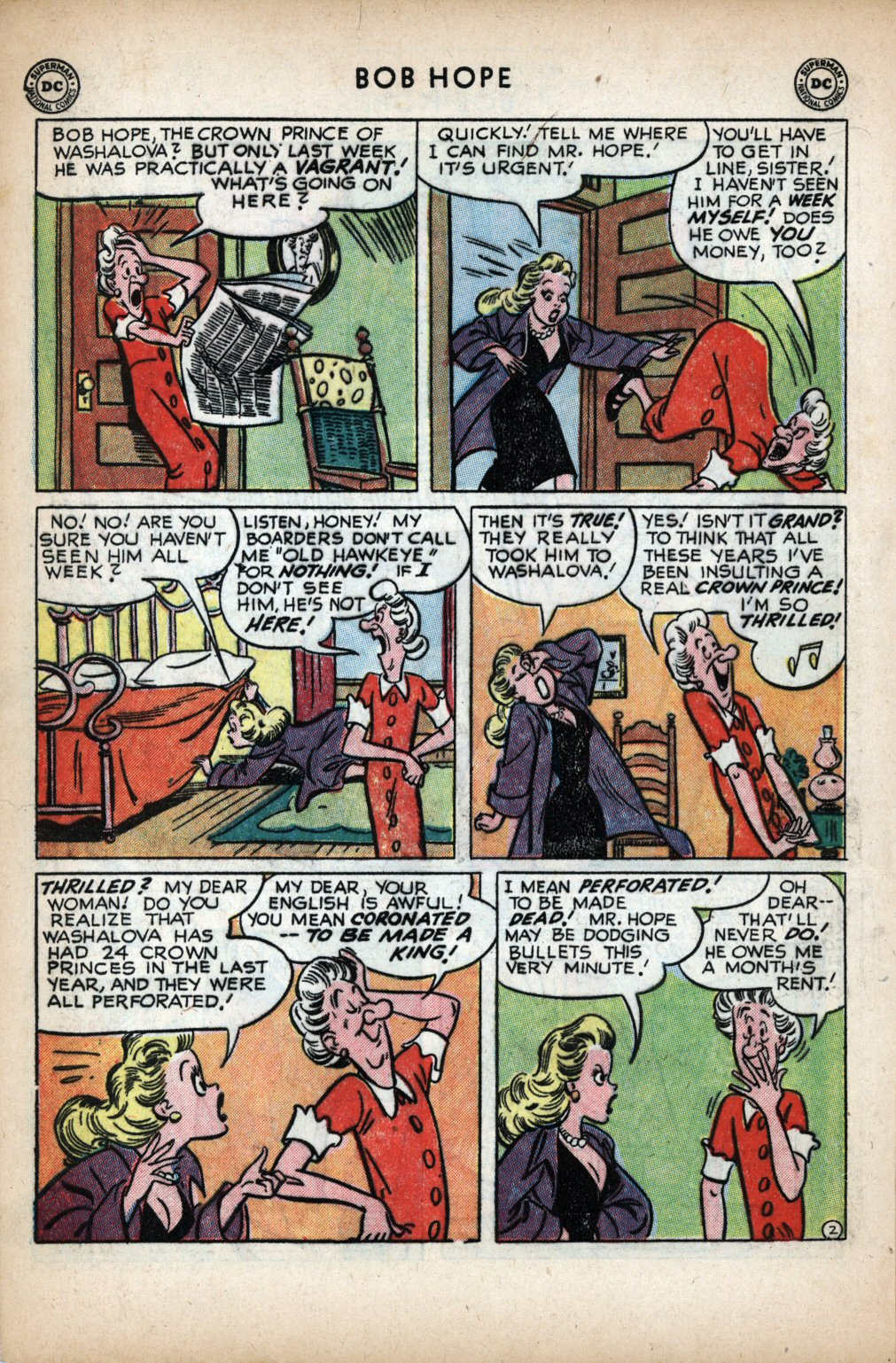 The Adventures of Bob Hope issue 11 - Page 4