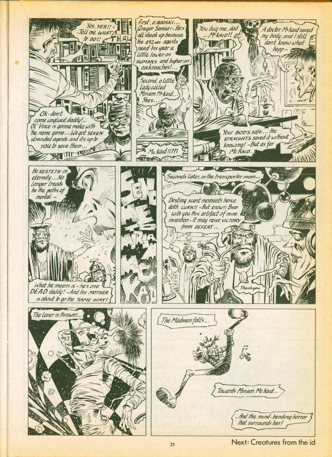 Warrior Issue #3 #4 - English 21