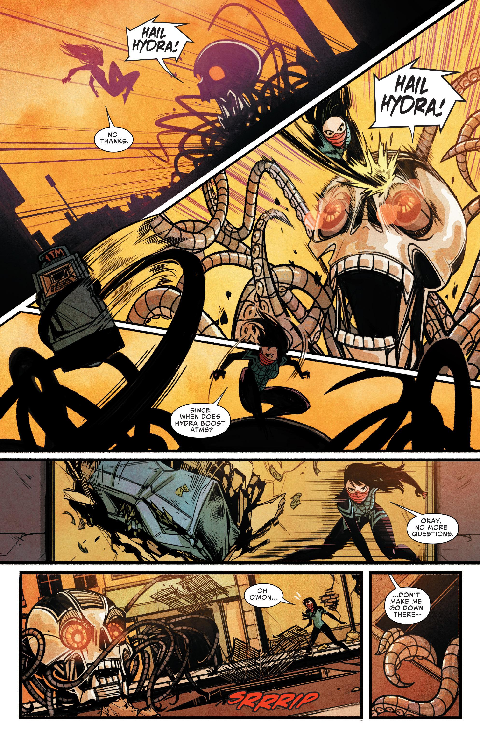 Read online Silk (2015) comic -  Issue #2 - 13