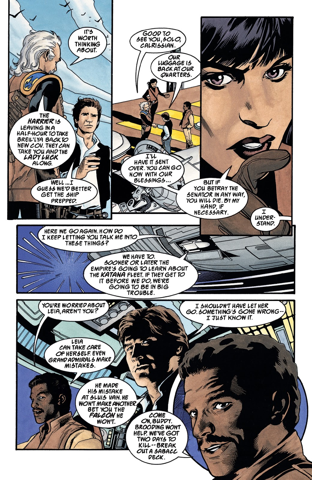 Read online Star Wars Legends: The New Republic - Epic Collection comic -  Issue # TPB 4 (Part 3) - 25