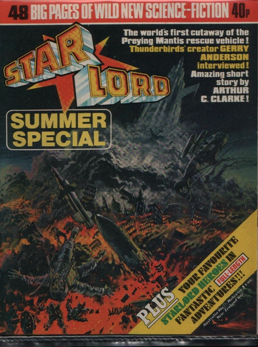 Starlord Summer Special issue Full - Page 1