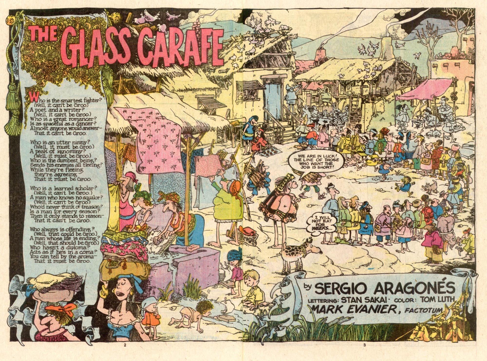 Read online Sergio Aragonés Groo the Wanderer comic -  Issue #40 - 3