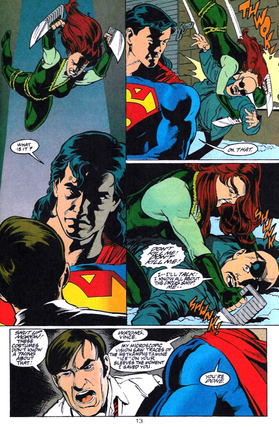 Read online Adventures of Superman (1987) comic -  Issue #521 - 14