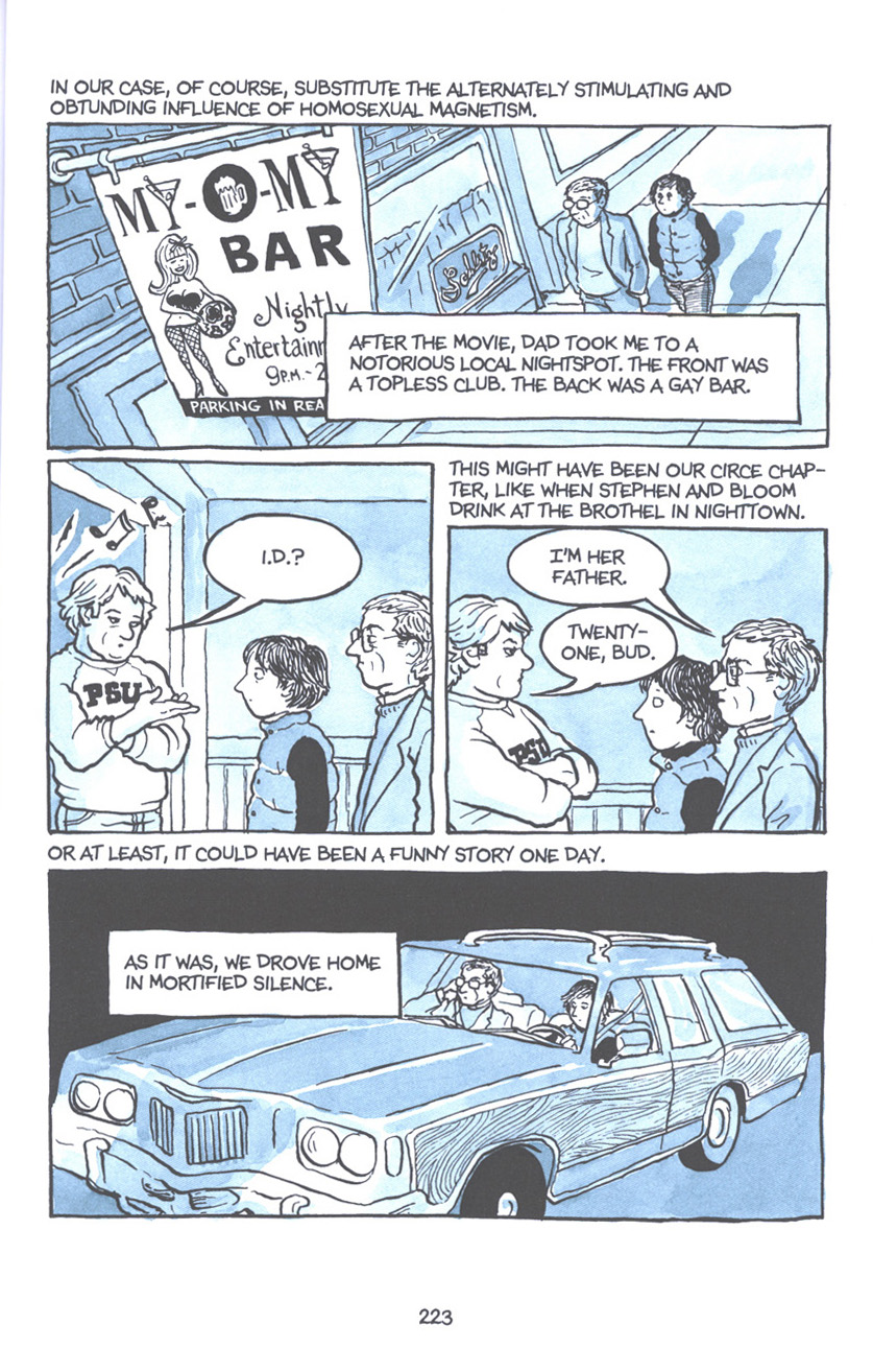 Read online Fun Home: A Family Tragicomic comic -  Issue # TPB - 229
