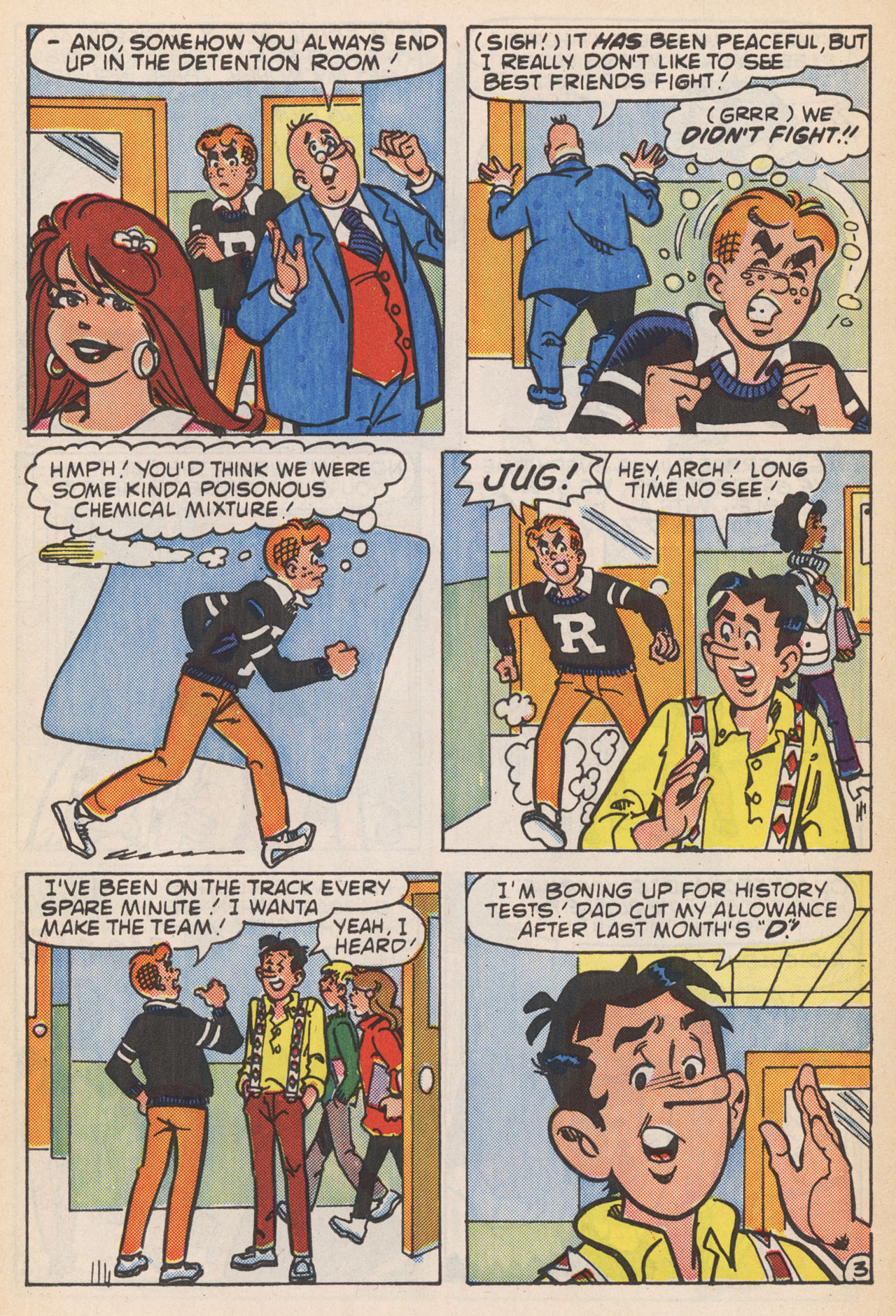 Read online Archie (1960) comic -  Issue #364 - 5
