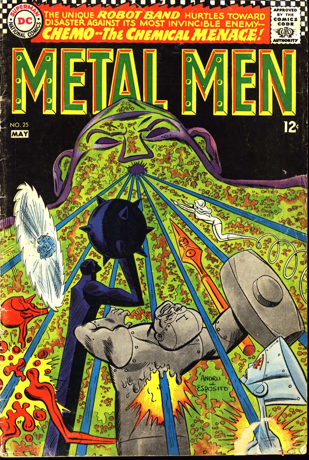 Metal Men (1963) issue 25 - Page 1